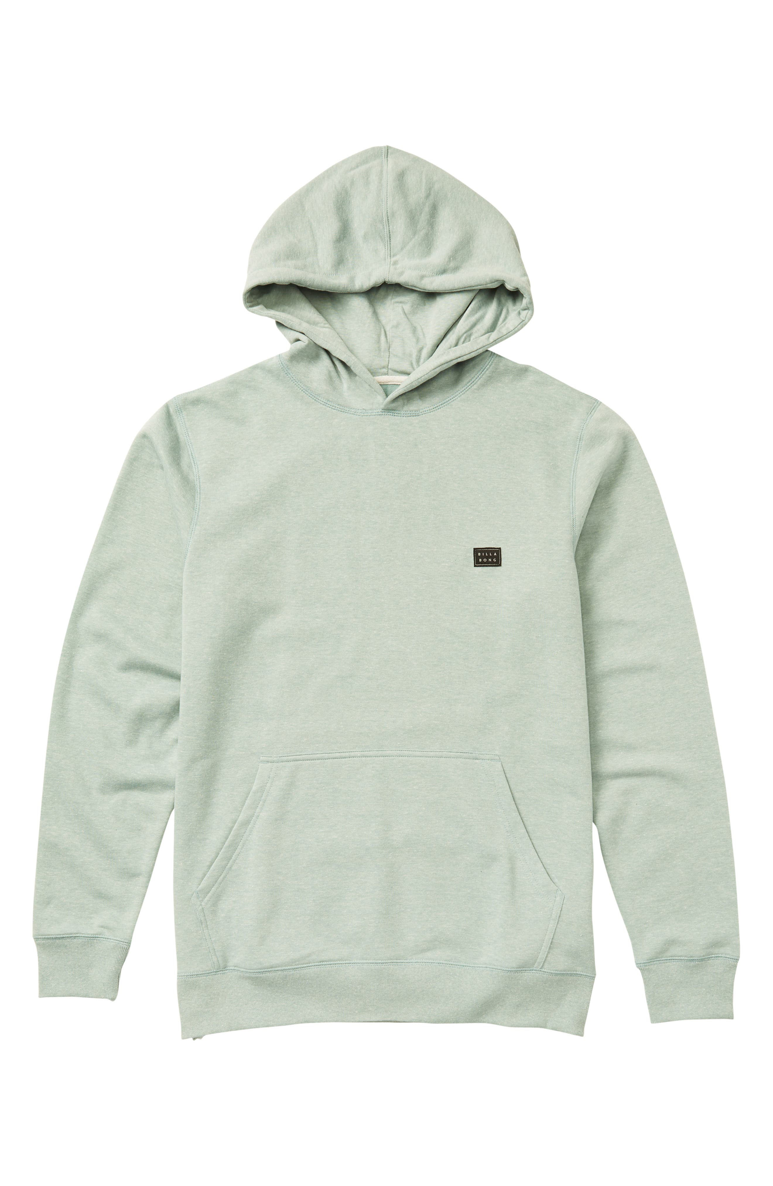All Day Hoodie,                         Main,                         color, DUST GREEN
