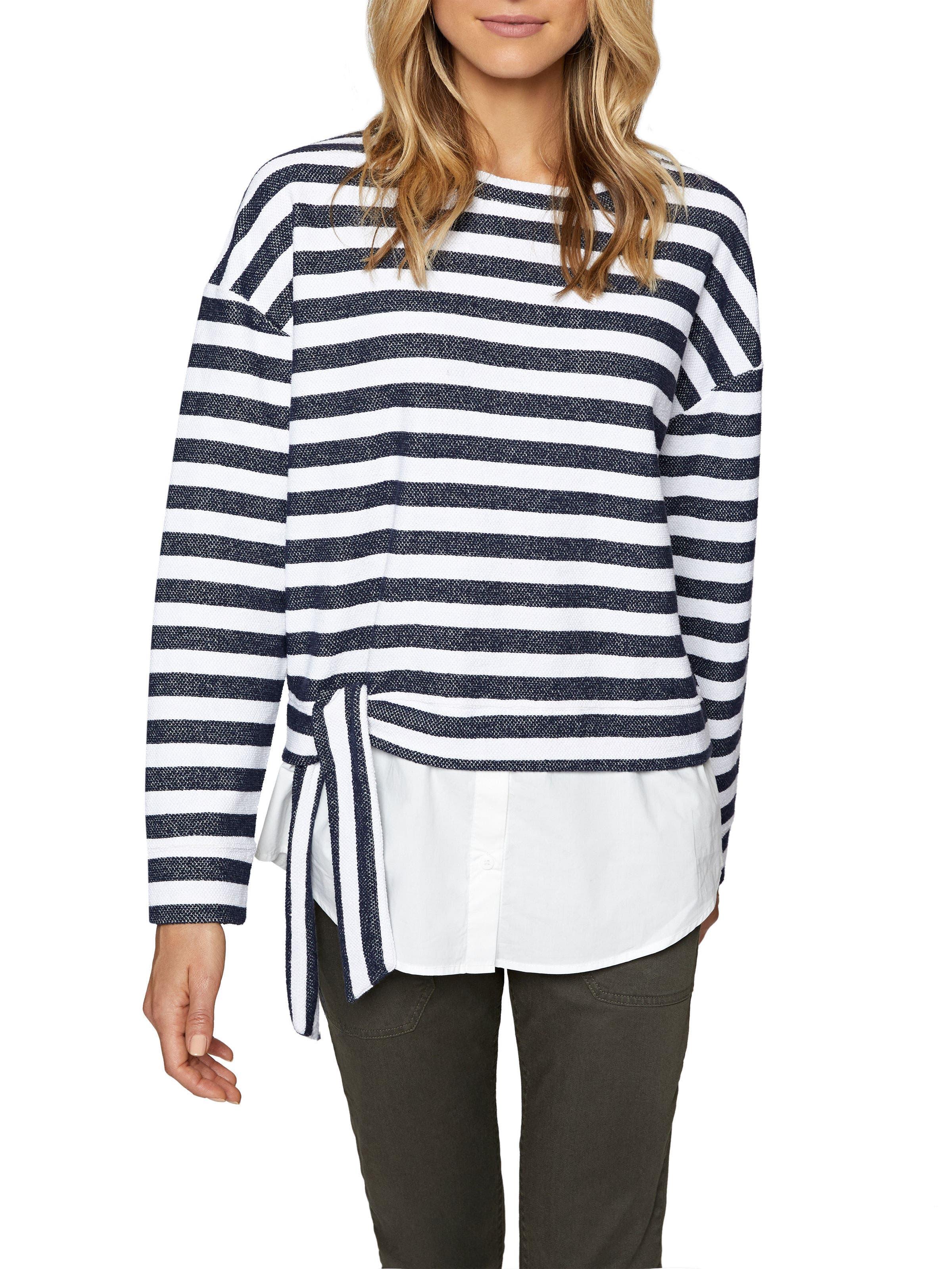 Ally Layered Look Sweatshirt,                             Main thumbnail 2, color,
