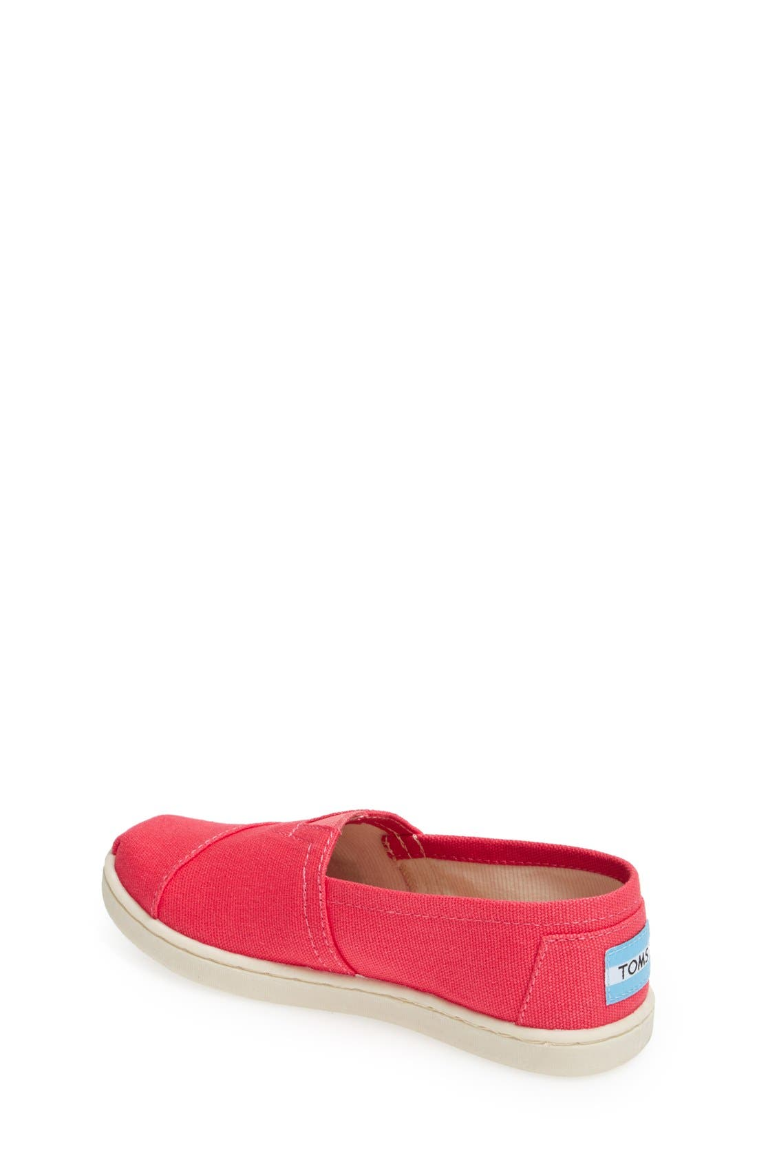 'Classic - Youth' Canvas Slip-On,                             Alternate thumbnail 9, color,