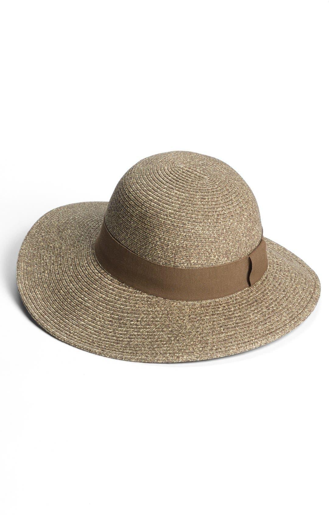 Wide Brim Sun Hat,                             Main thumbnail 5, color,