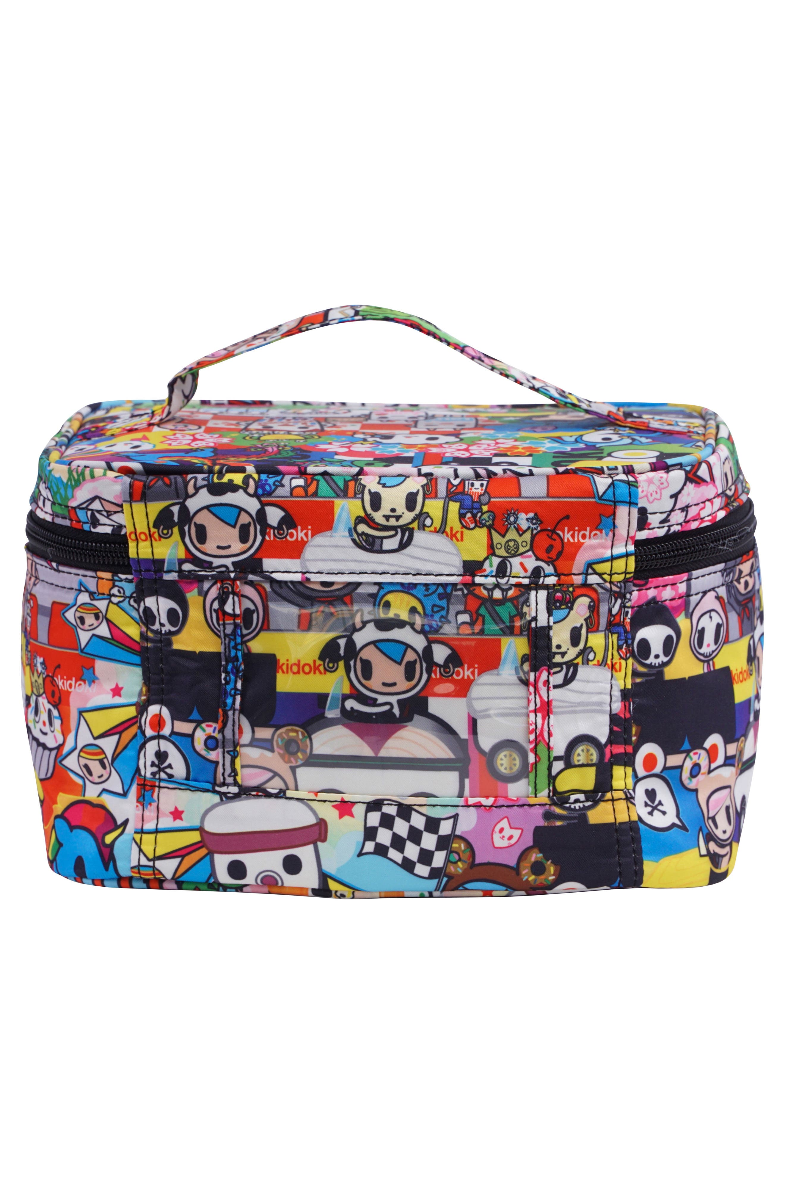 x tokidoki Be Ready Cosmetics Travel Case,                             Alternate thumbnail 2, color,                             SUSHI CARS