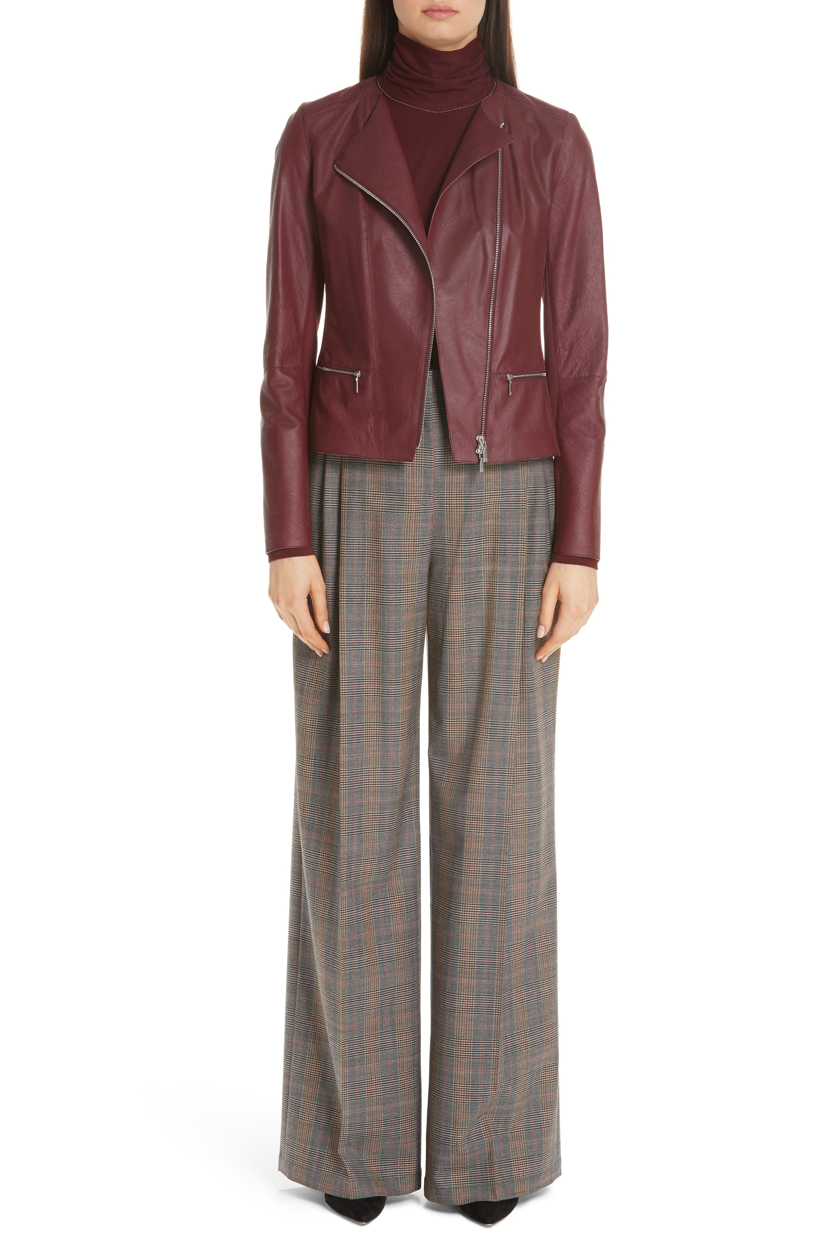 Quincy Stretch Wool Pants,                             Alternate thumbnail 7, color,                             SUNSTONE MULTI
