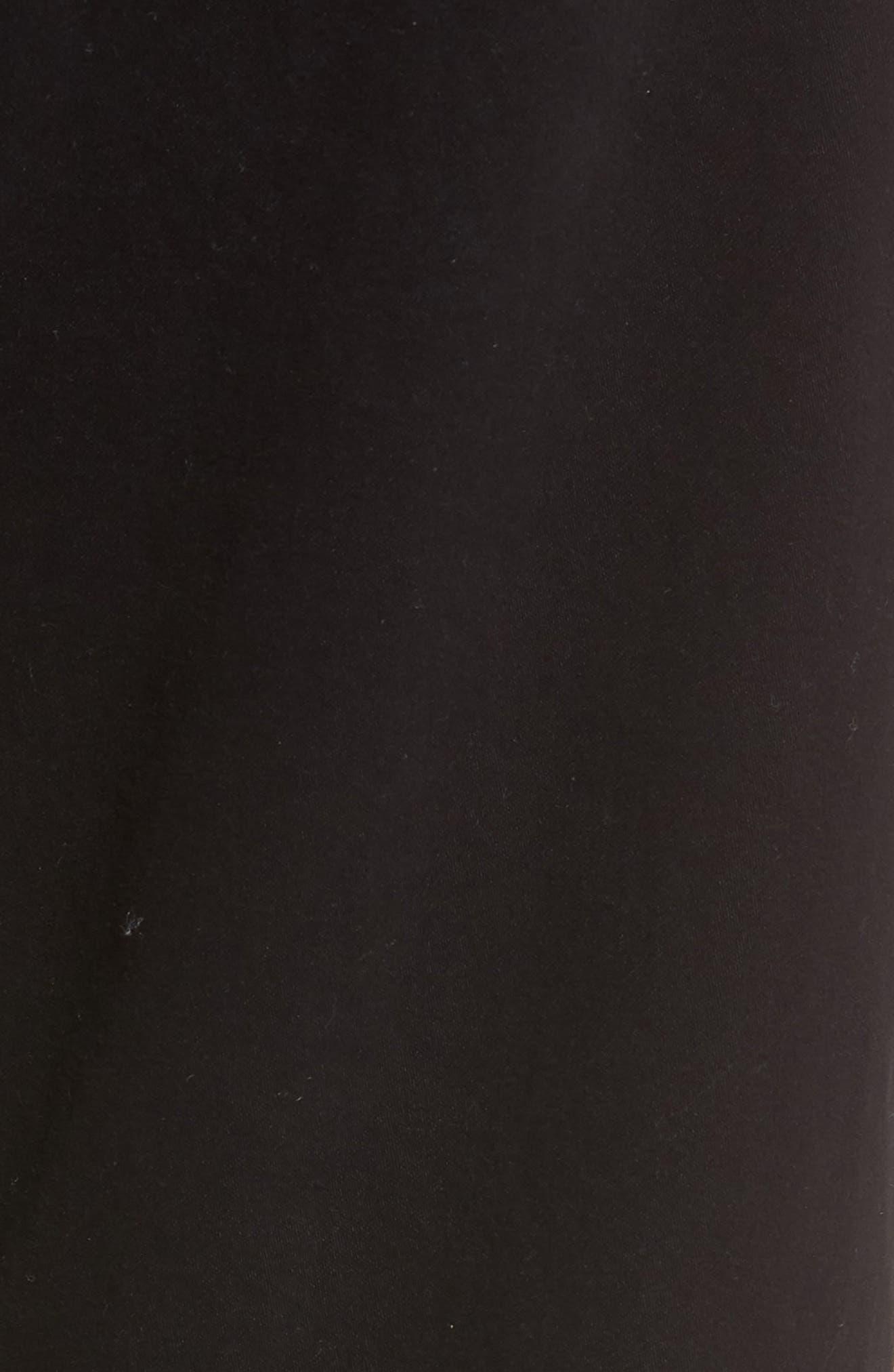 Graduate SUD Slim Straight Leg Pants,                             Alternate thumbnail 6, color,                             BLACK