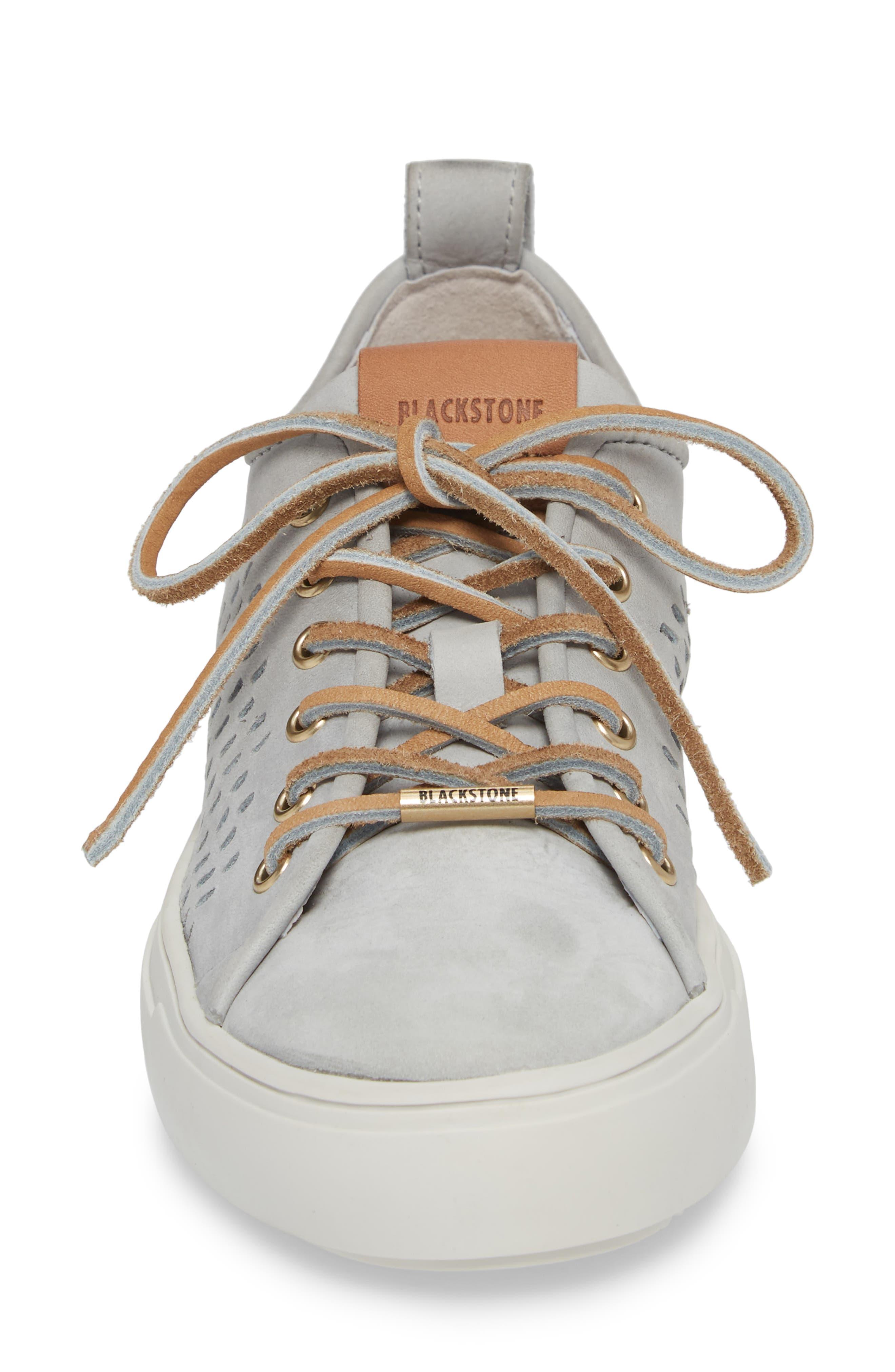 PL87 Sneaker,                             Alternate thumbnail 4, color,                             LIMESTONE LEATHER