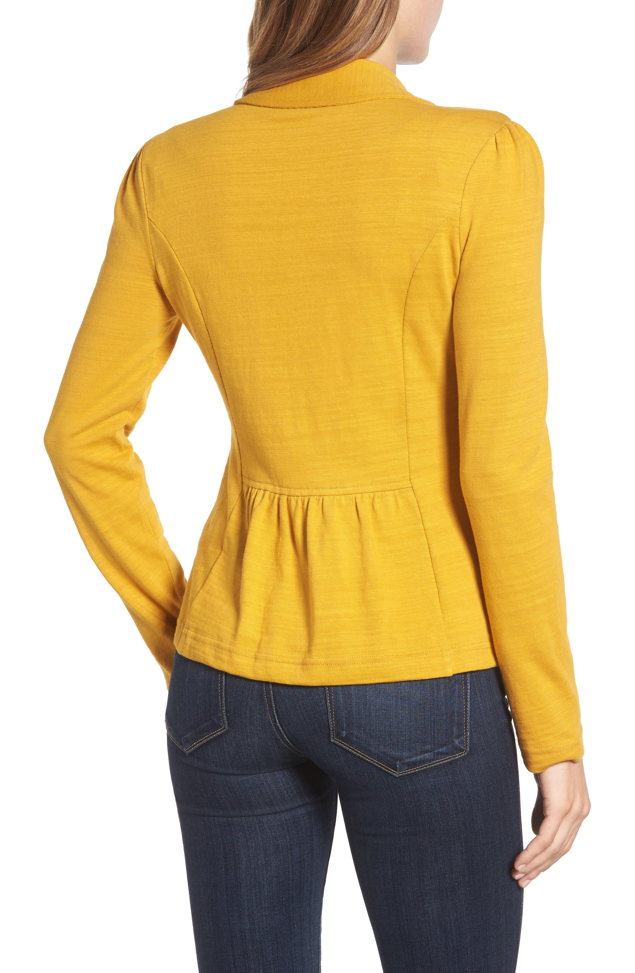 Knit One-Button Blazer,                             Alternate thumbnail 27, color,