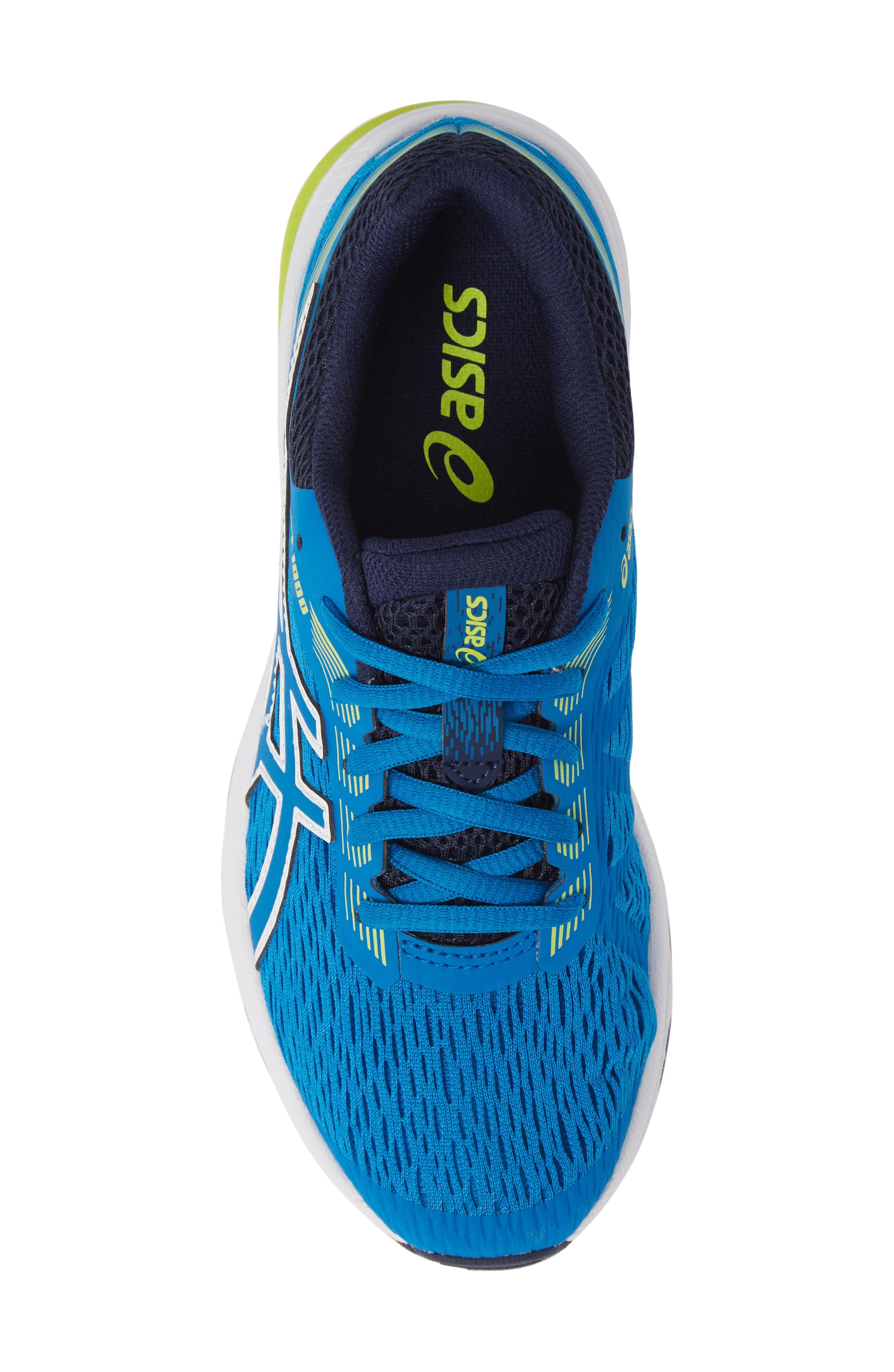 GT 1000 7 Running Shoe,                             Alternate thumbnail 5, color,                             RACE BLUE/ NEON LIME