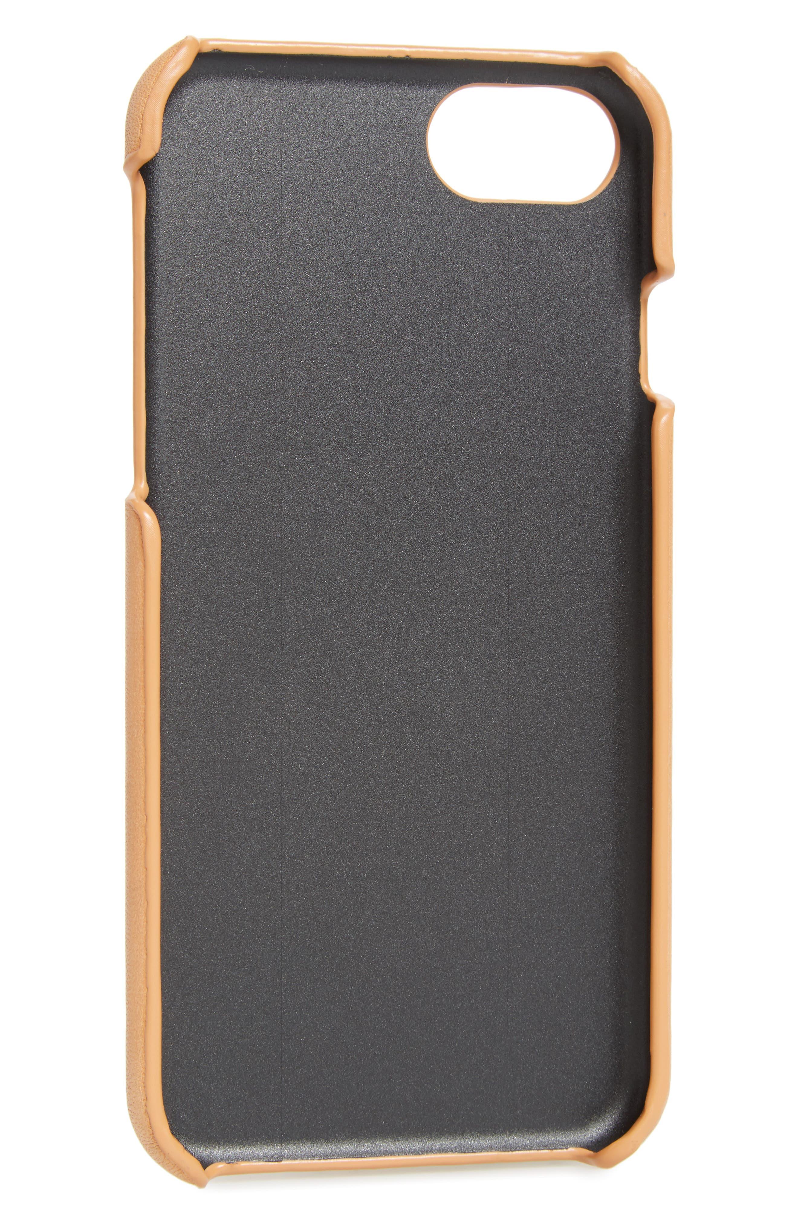Double-J Logo iPhone 7 Case,                             Alternate thumbnail 2, color,
