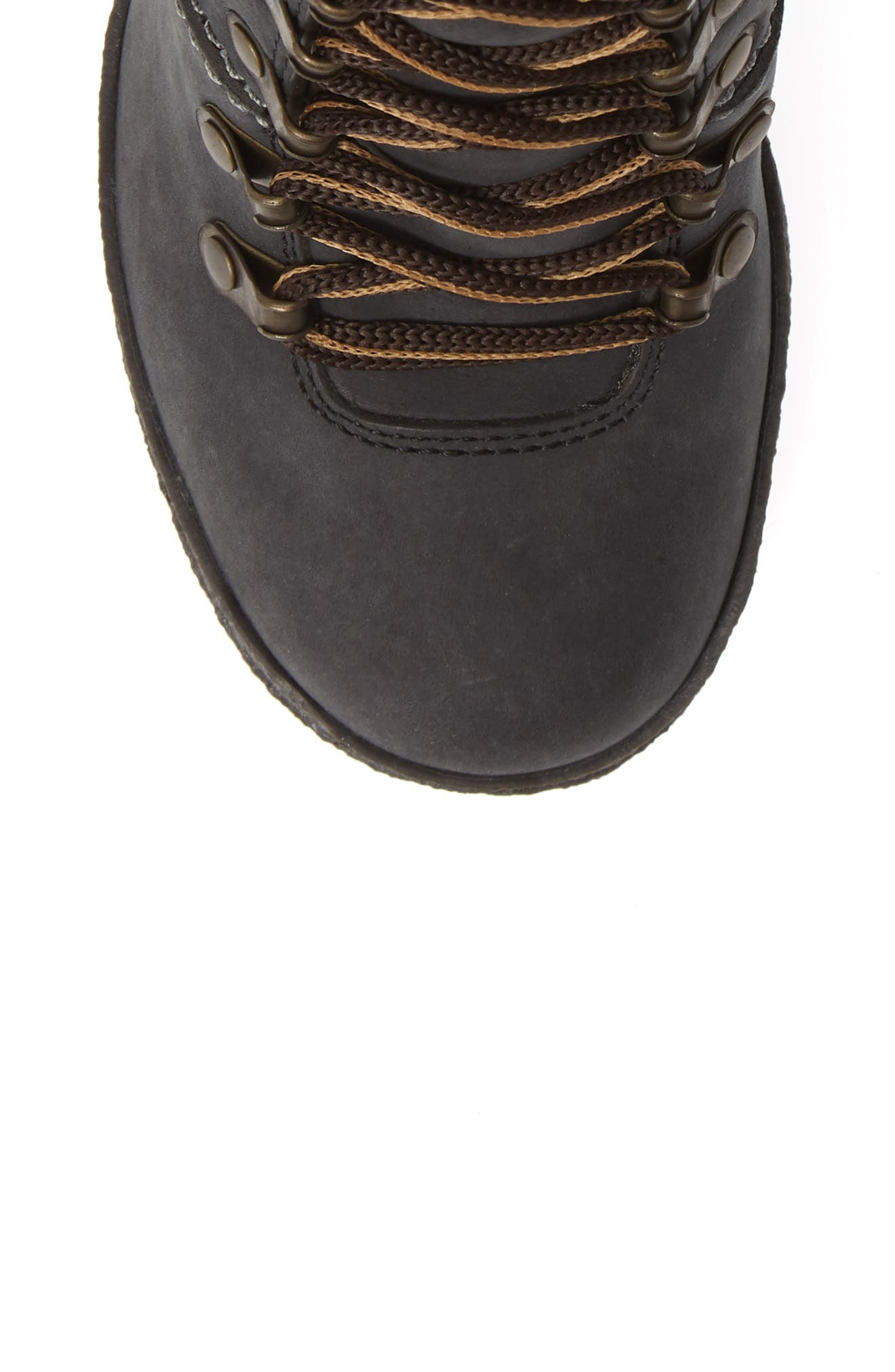 Eileen Platform Boot,                             Alternate thumbnail 5, color,                             BLACK