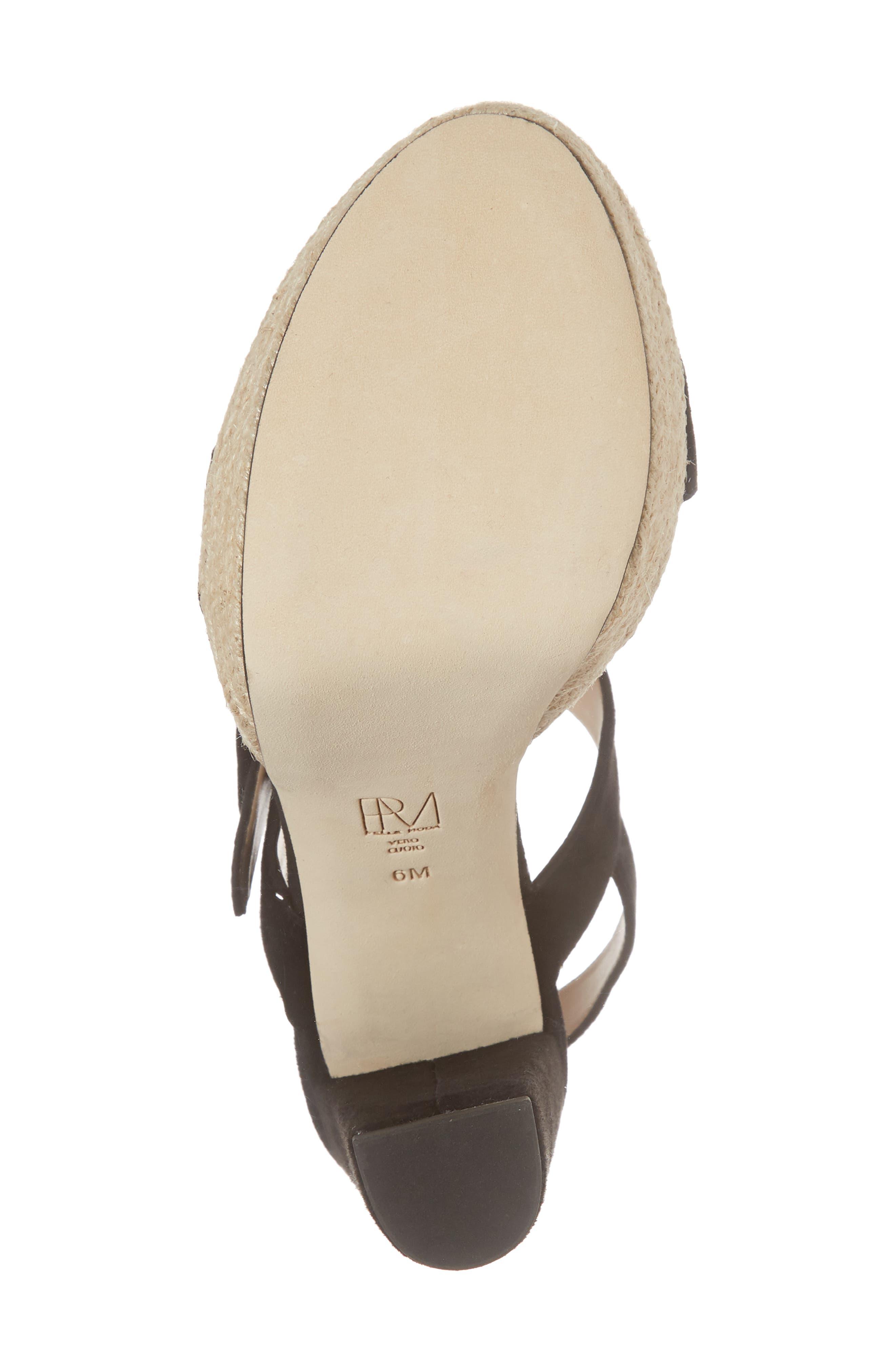 Paloma Platform Sandal,                             Alternate thumbnail 6, color,                             002