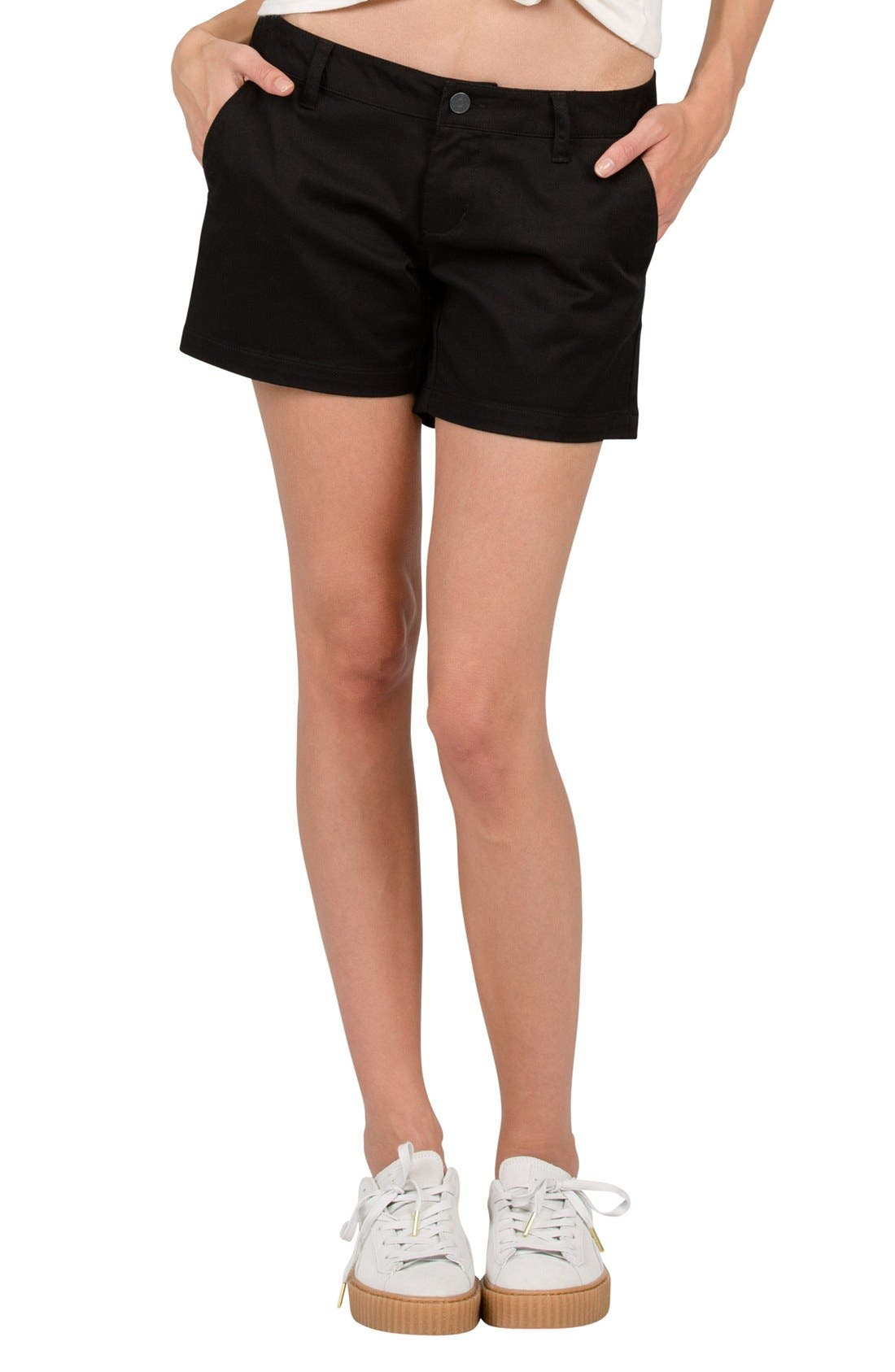 Frochickie Chino Shorts,                             Main thumbnail 1, color,                             001
