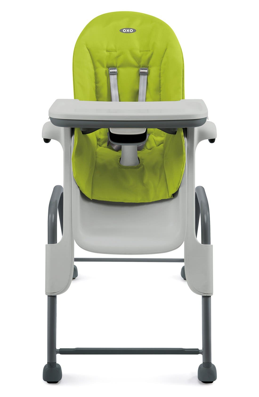 'Seedling' Highchair,                         Main,                         color, GREEN / DARK GRAY