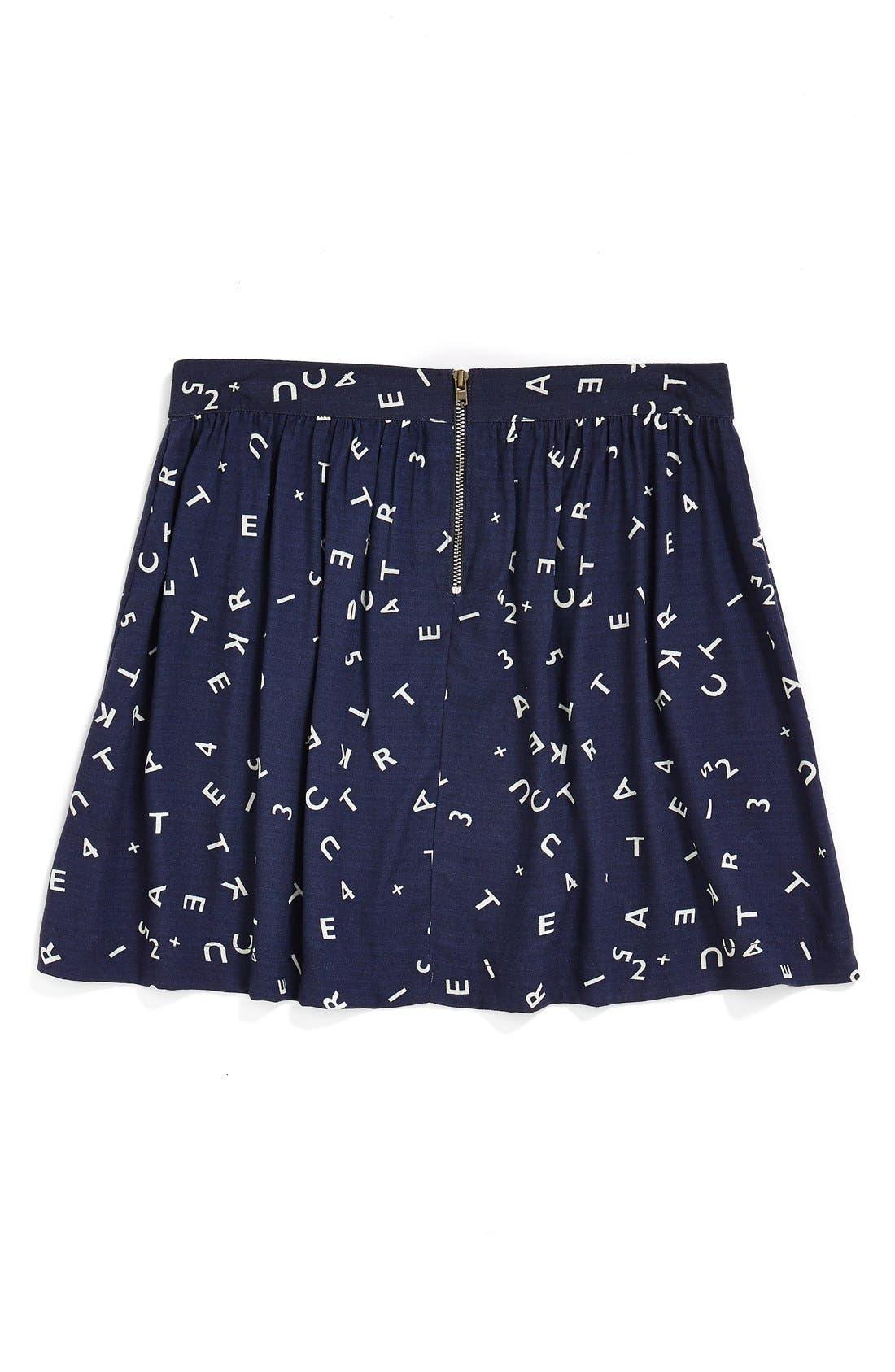'Ambrosia' Woven Skirt,                             Alternate thumbnail 2, color,                             410