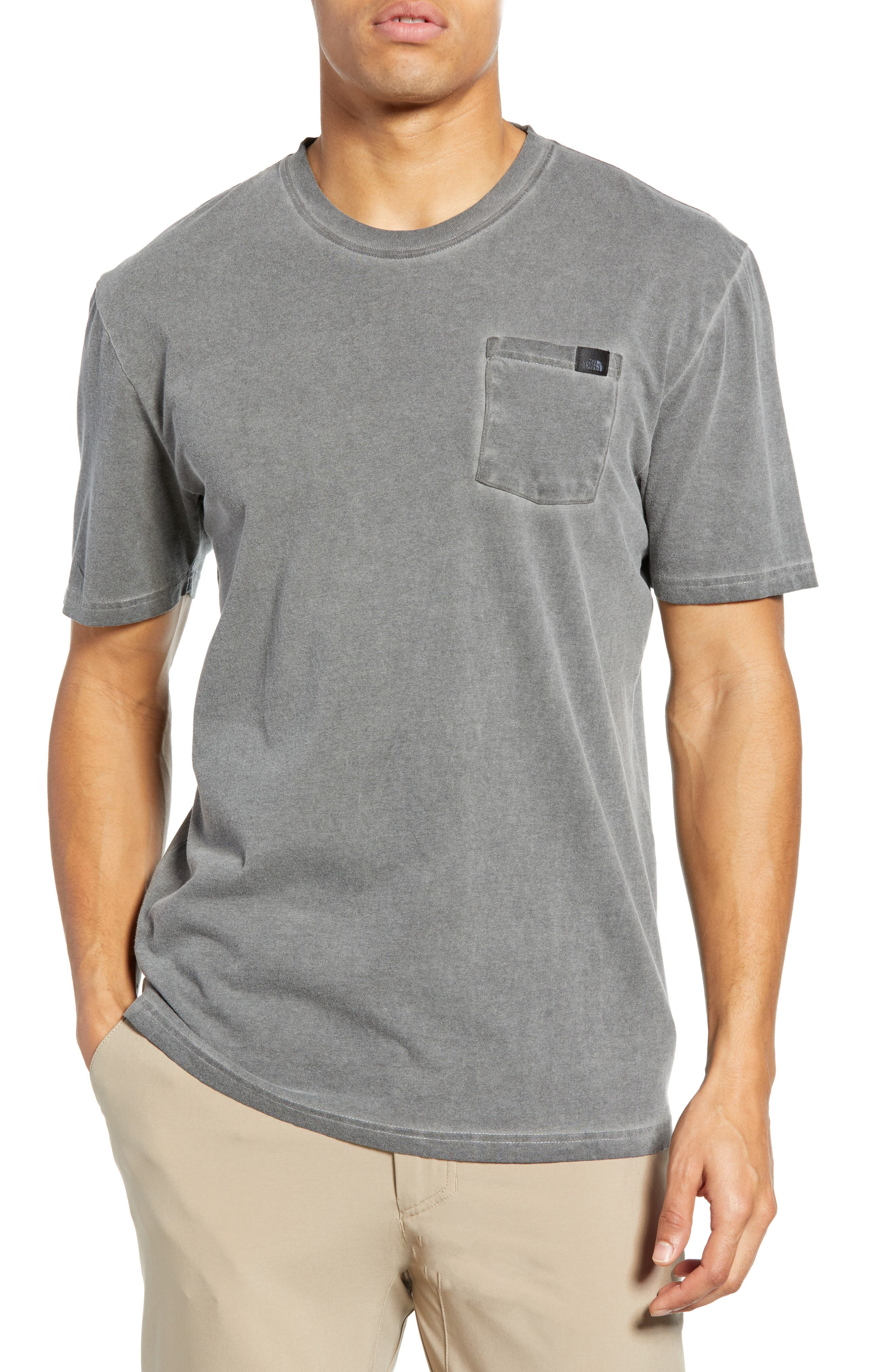 Shadow Wash Pocket T Shirt by The North Face