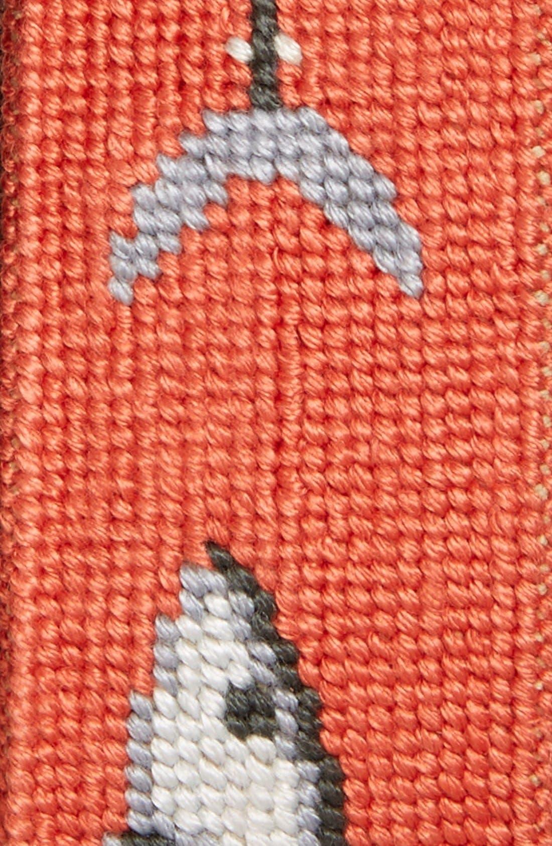 SMATHERS & BRANSON,                             'Bonefish' Needlepoint Belt,                             Alternate thumbnail 2, color,                             830