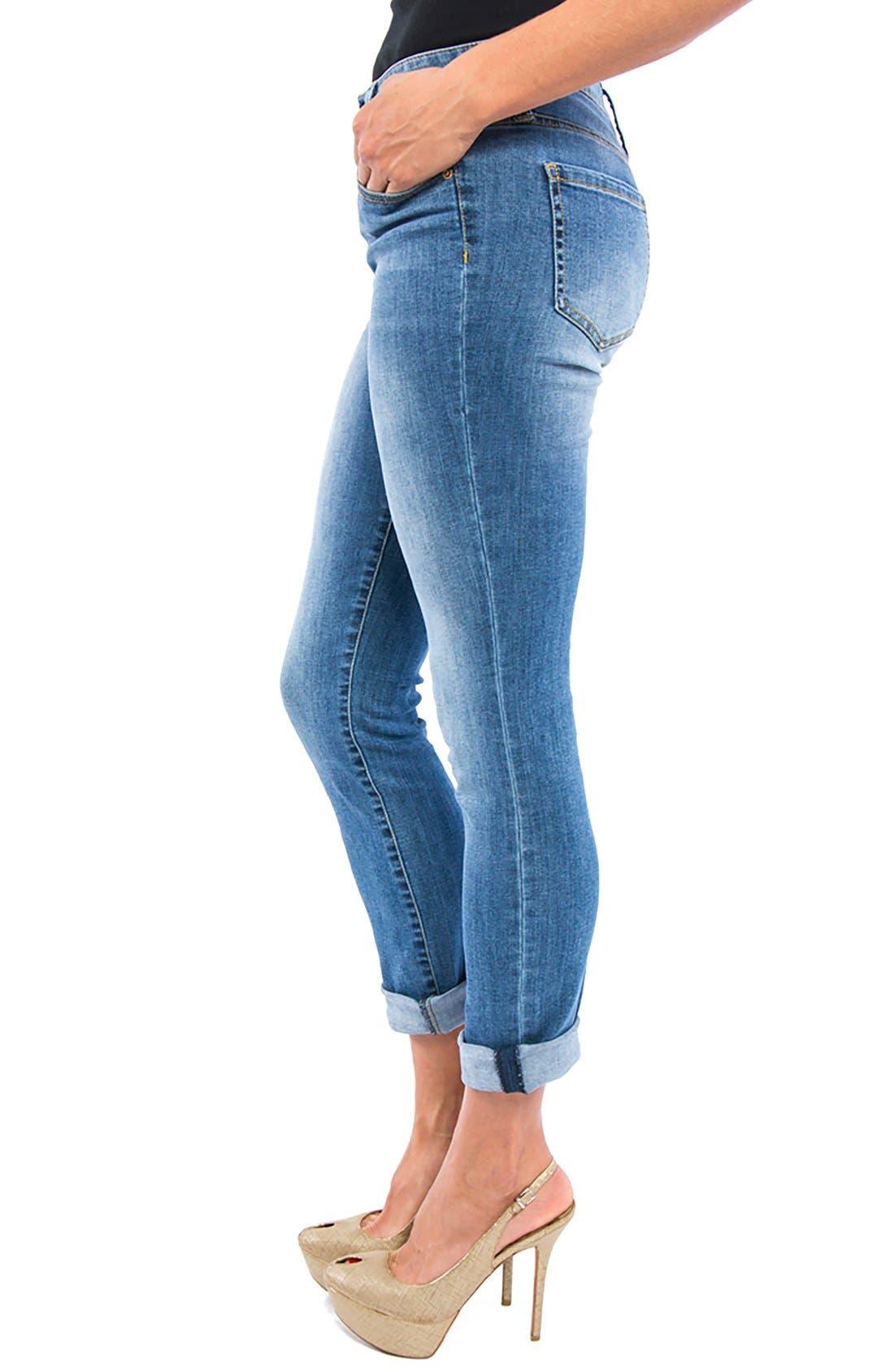Peyton Slim Boyfriend Jeans,                             Alternate thumbnail 7, color,
