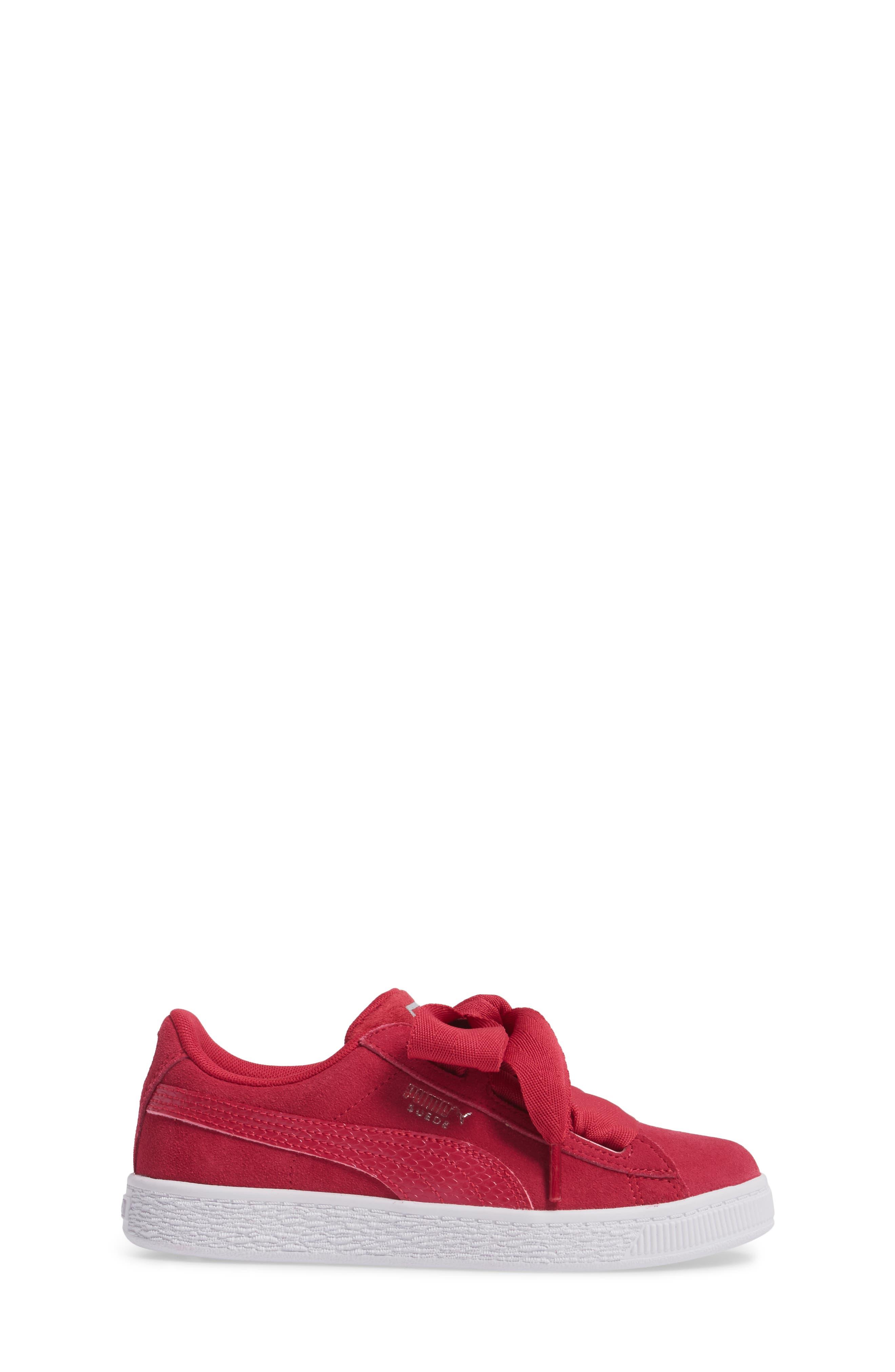 Basket Heart Sneaker,                             Alternate thumbnail 9, color,