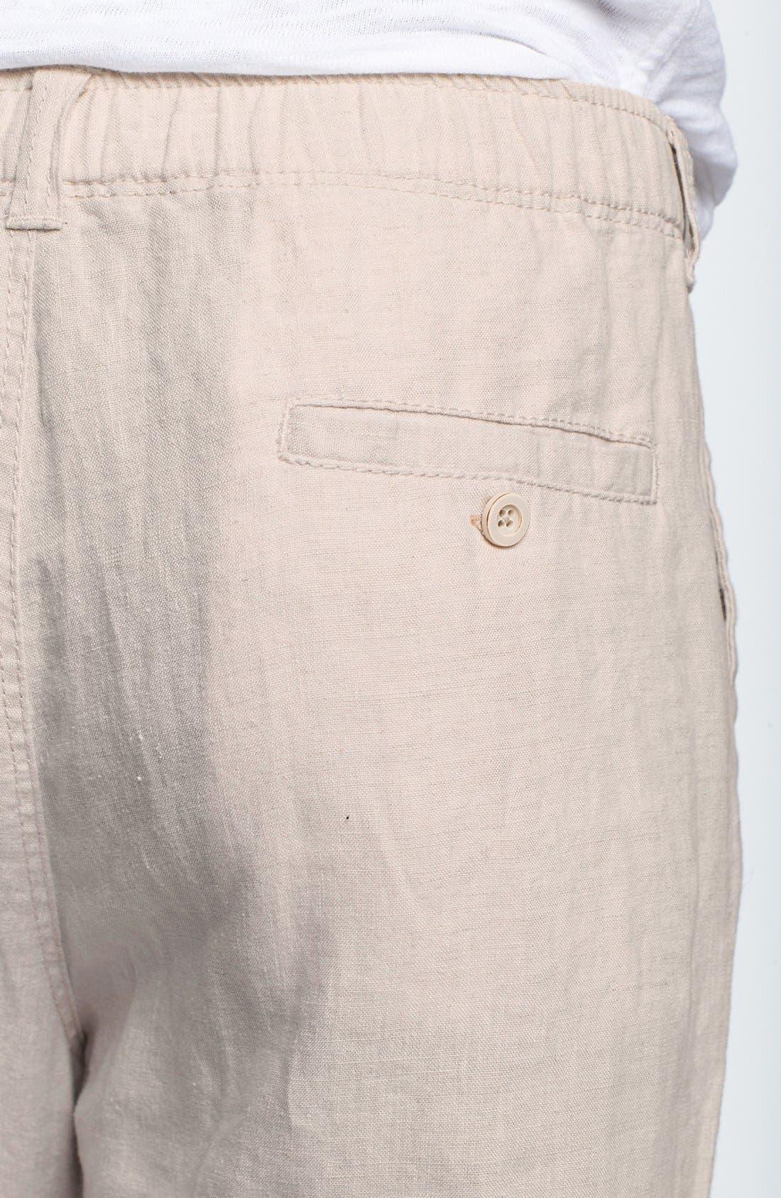 New Linen on the Beach Linen Pants,                             Alternate thumbnail 13, color,