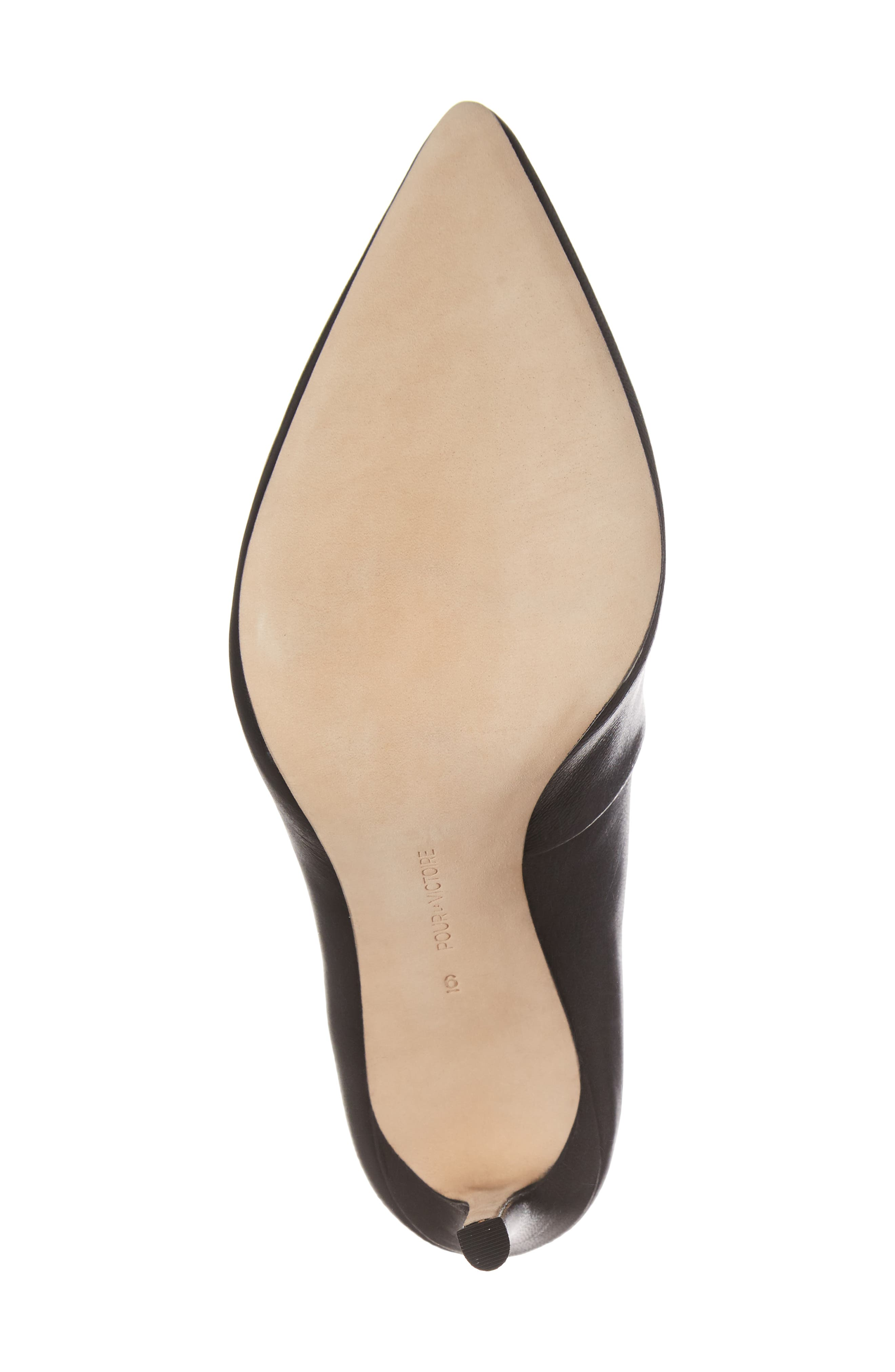 Cari Pointy Toe Bootie,                             Alternate thumbnail 6, color,                             001