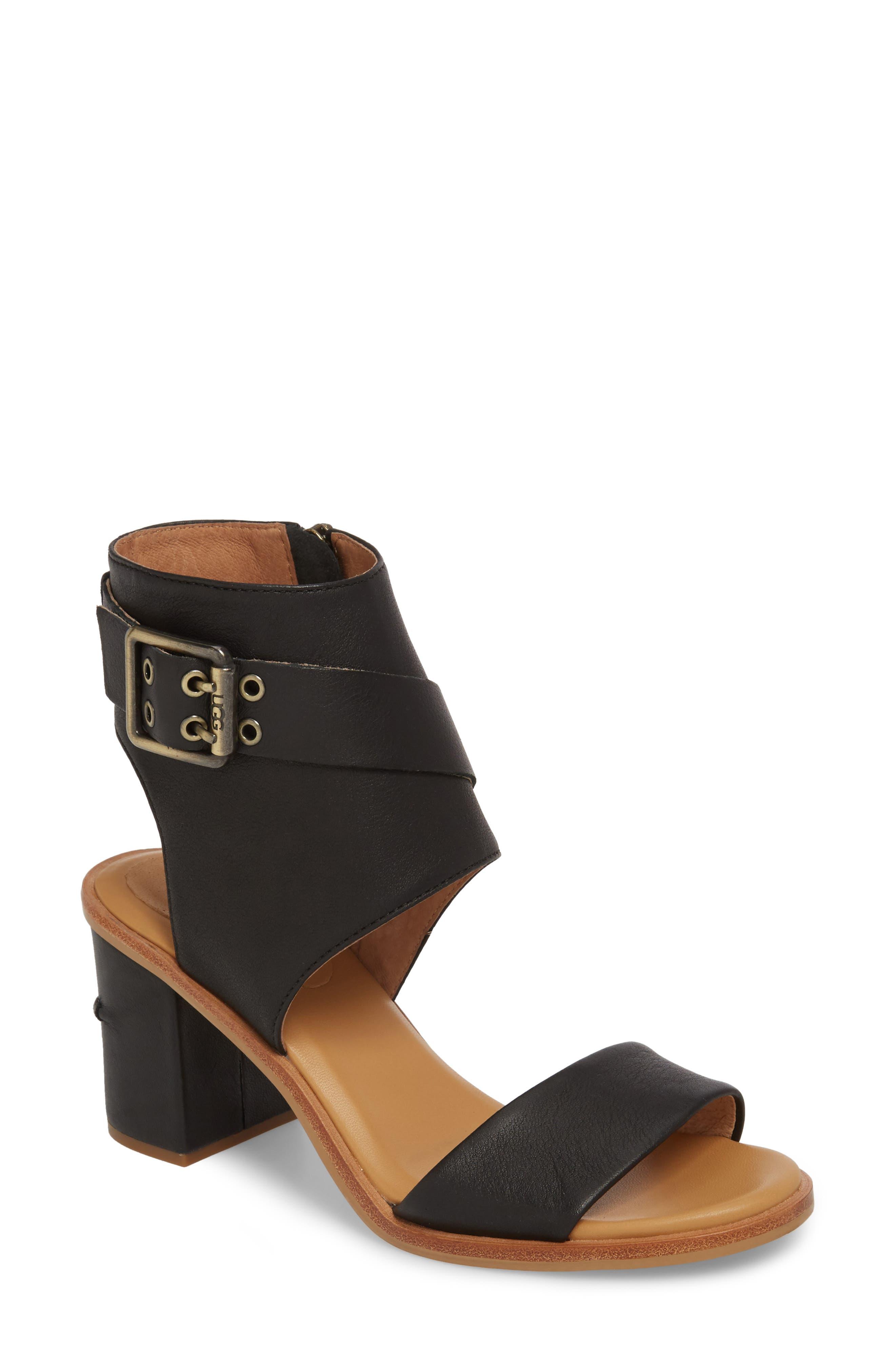 Ugg Claudette Cuff Sandal- Black