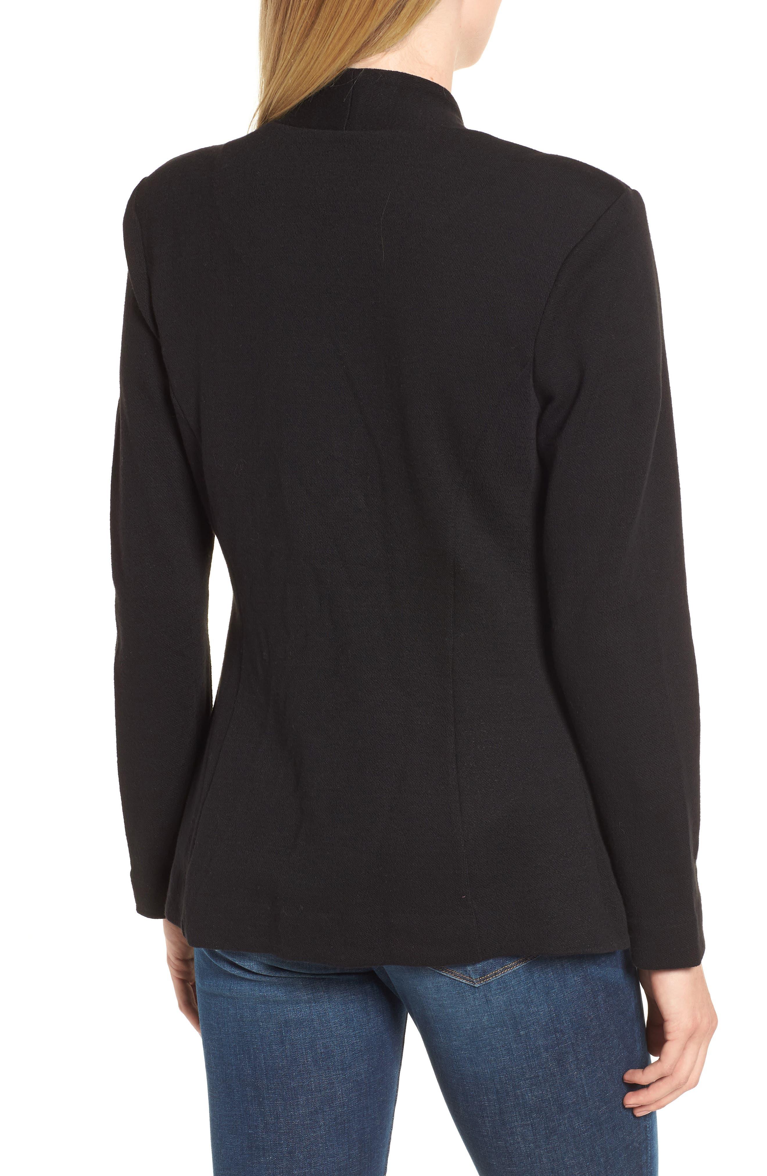 Sleek Jacket,                             Alternate thumbnail 2, color,                             BLACK ONYX