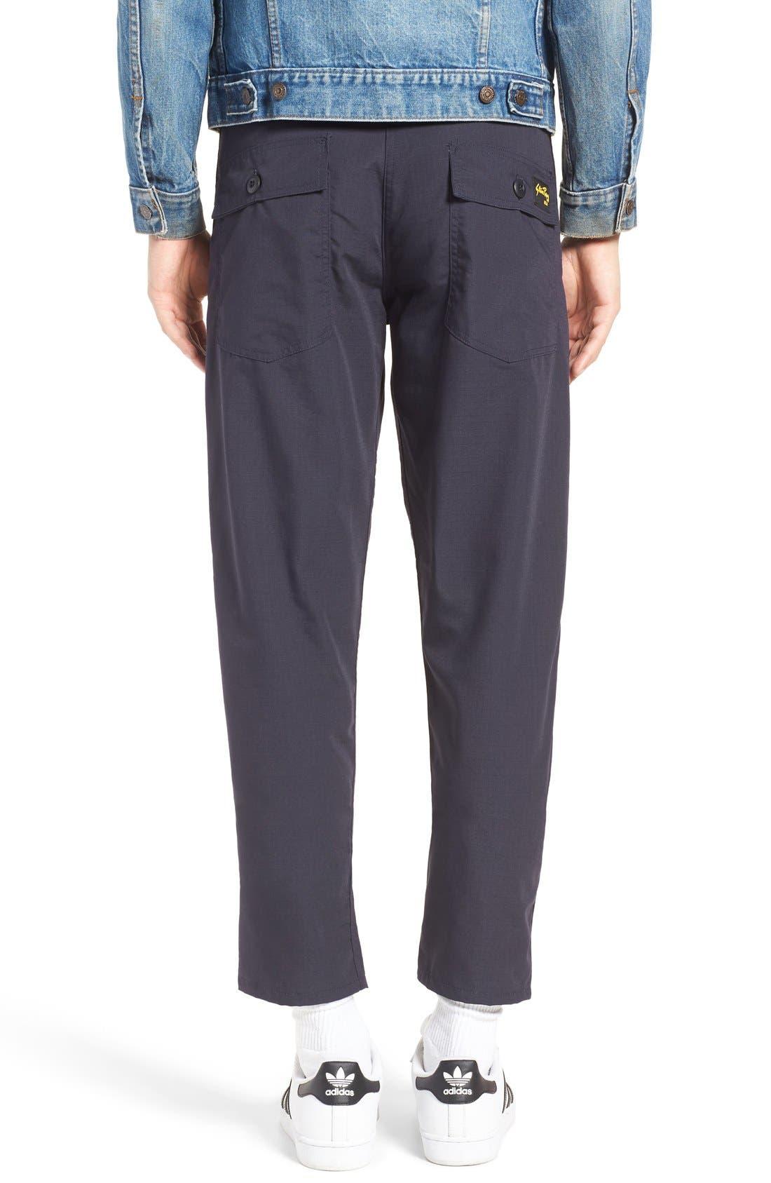 Slim Fit Four Pocket Fatigue Pants,                             Alternate thumbnail 6, color,                             410