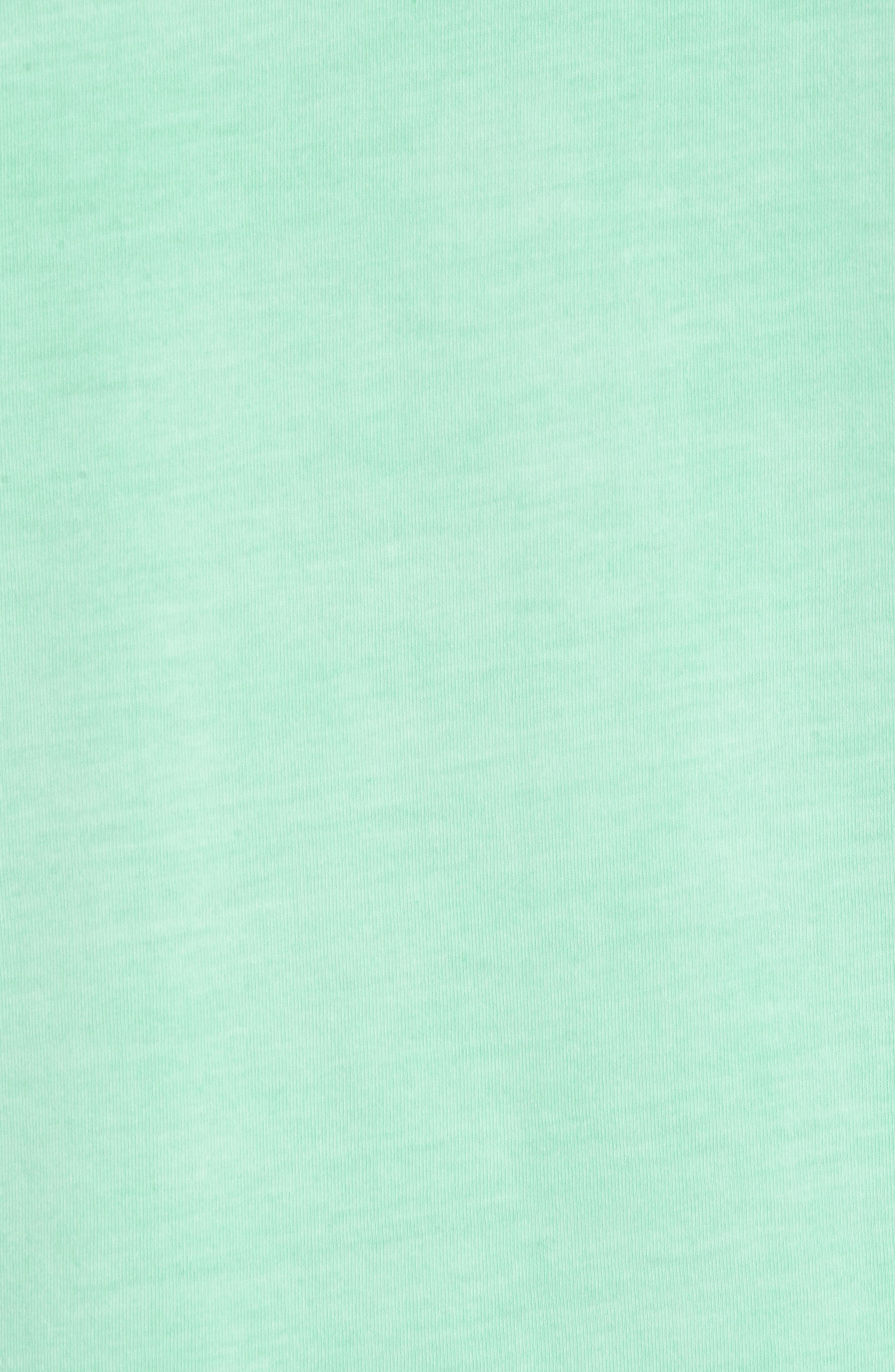 Peruvian Pima Cotton Crewneck T-Shirt,                             Alternate thumbnail 5, color,                             LIME