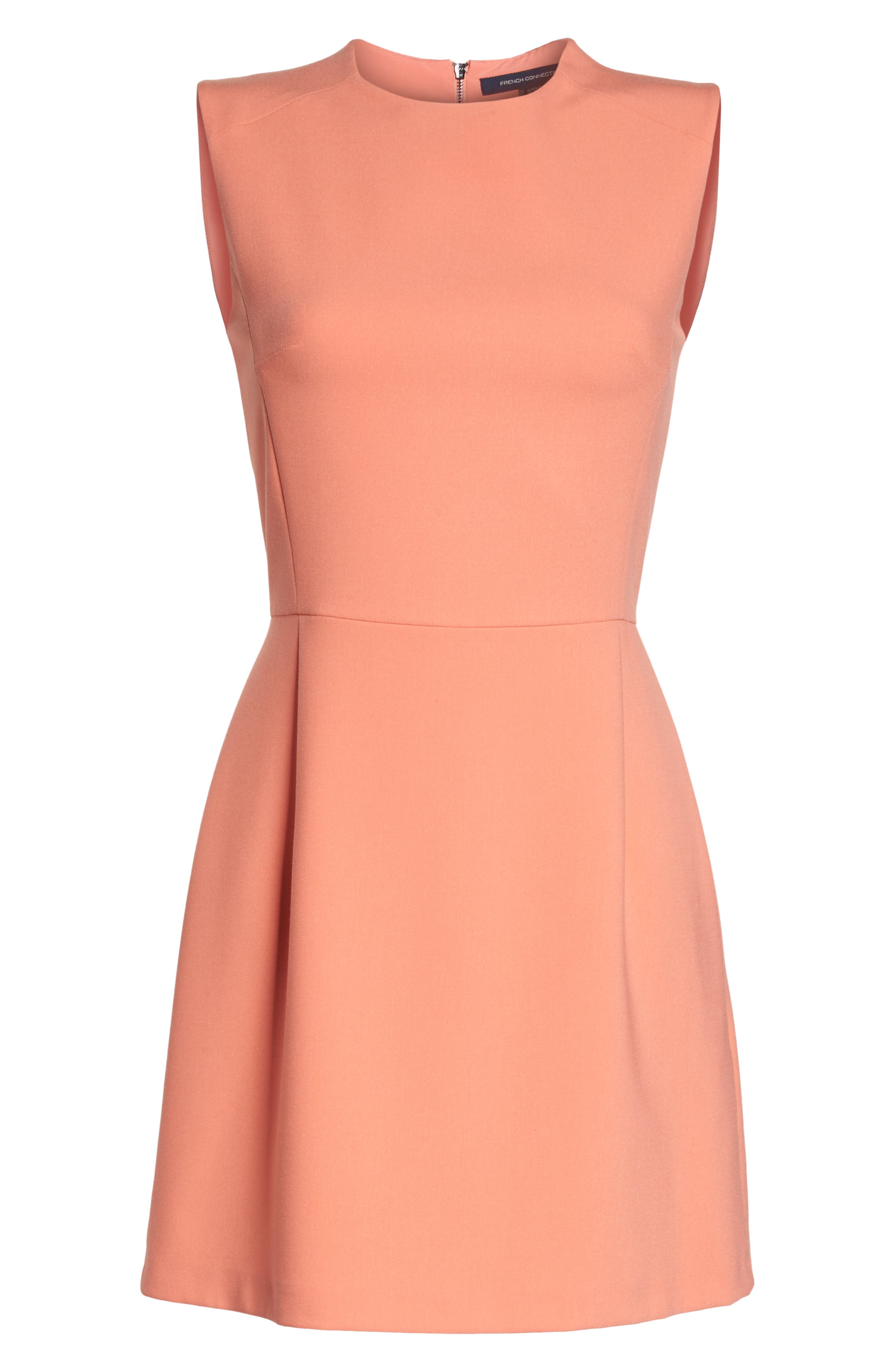 'Sundae' Stretch Minidress,                             Alternate thumbnail 7, color,                             CORAL SANDS