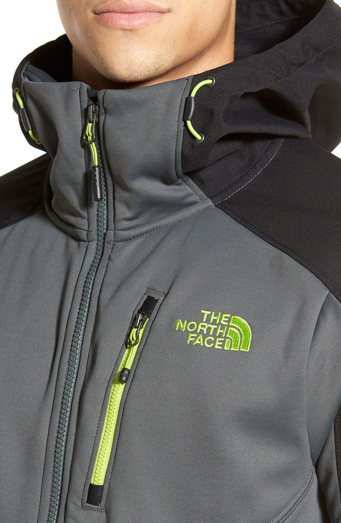 Tenacious Active Fit Hooded Jacket,                             Alternate thumbnail 19, color,