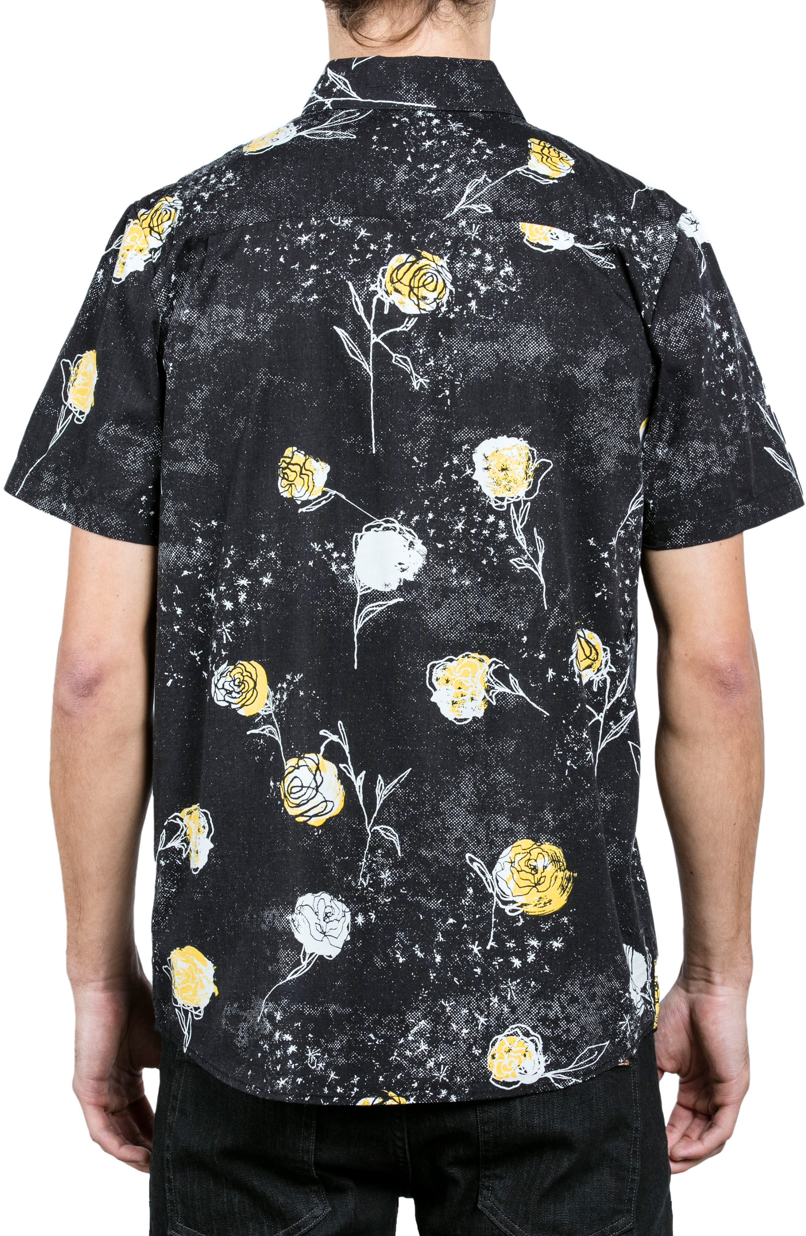 Jaded & Wilted Floral Shirt,                             Alternate thumbnail 2, color,