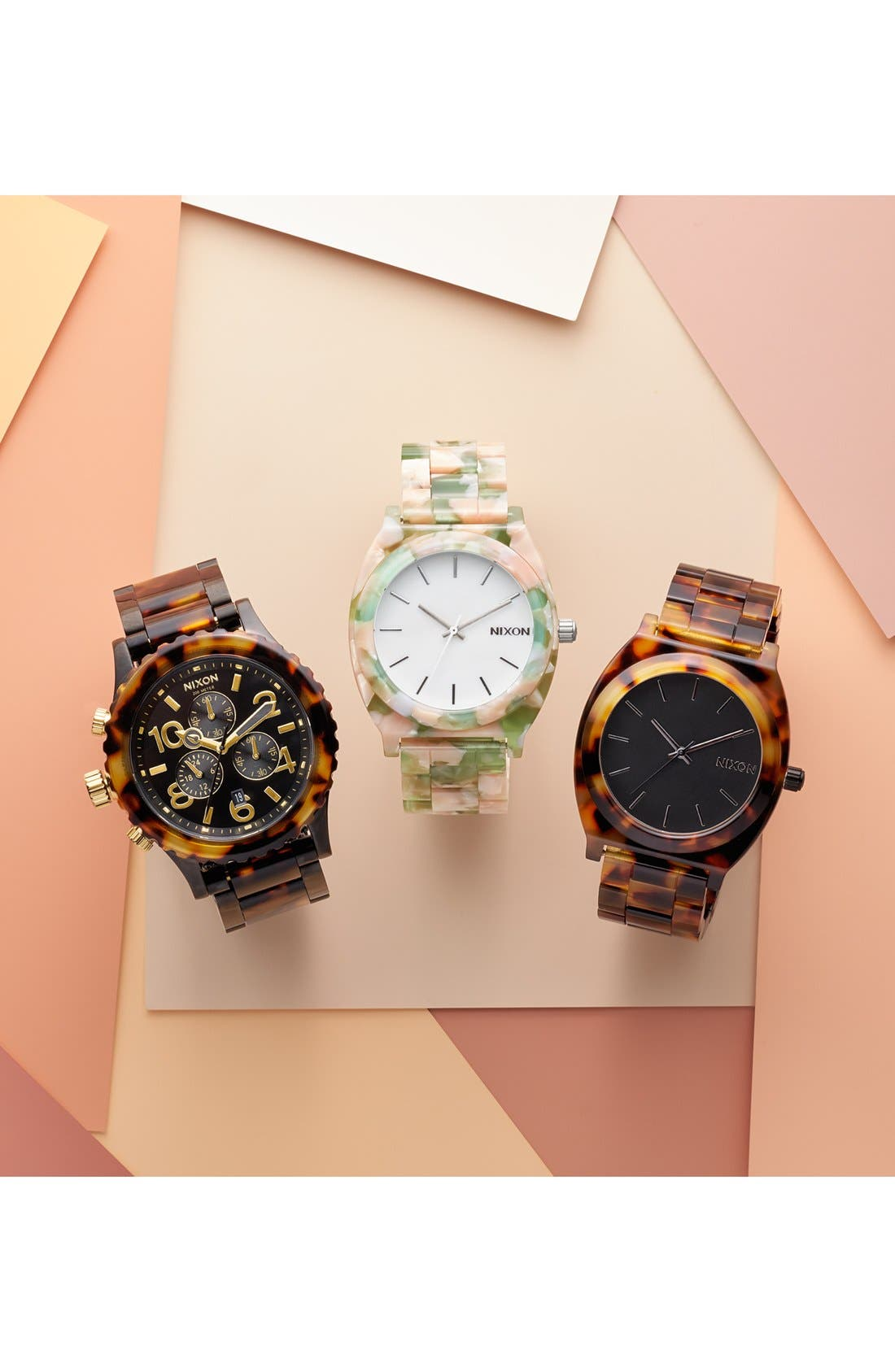 'The 38-20' Extra Large Chronograph Bracelet Watch, 38mm,                             Alternate thumbnail 4, color,                             200