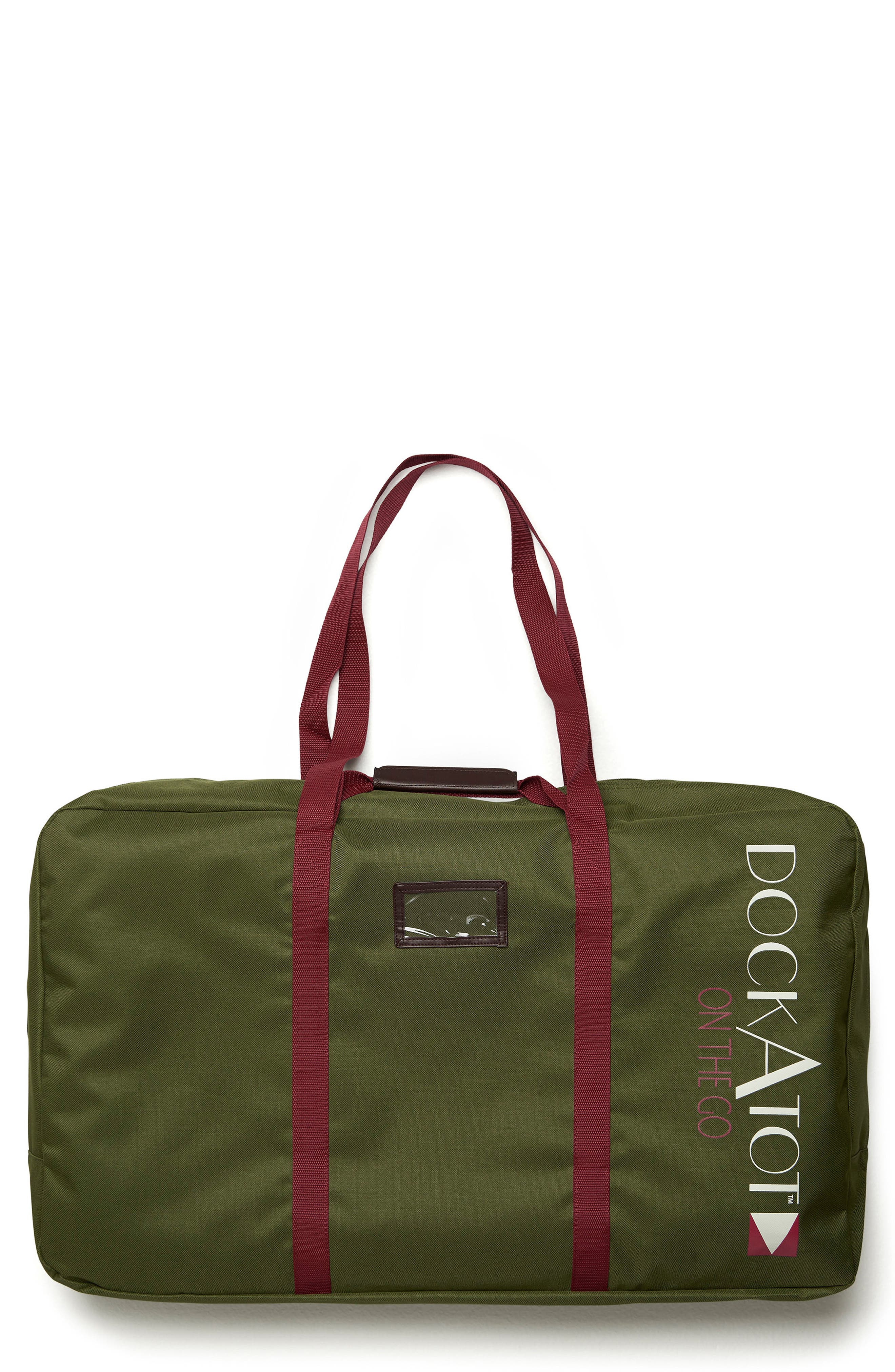 Deluxe Transport Bag,                         Main,                         color, MOSS GREEN