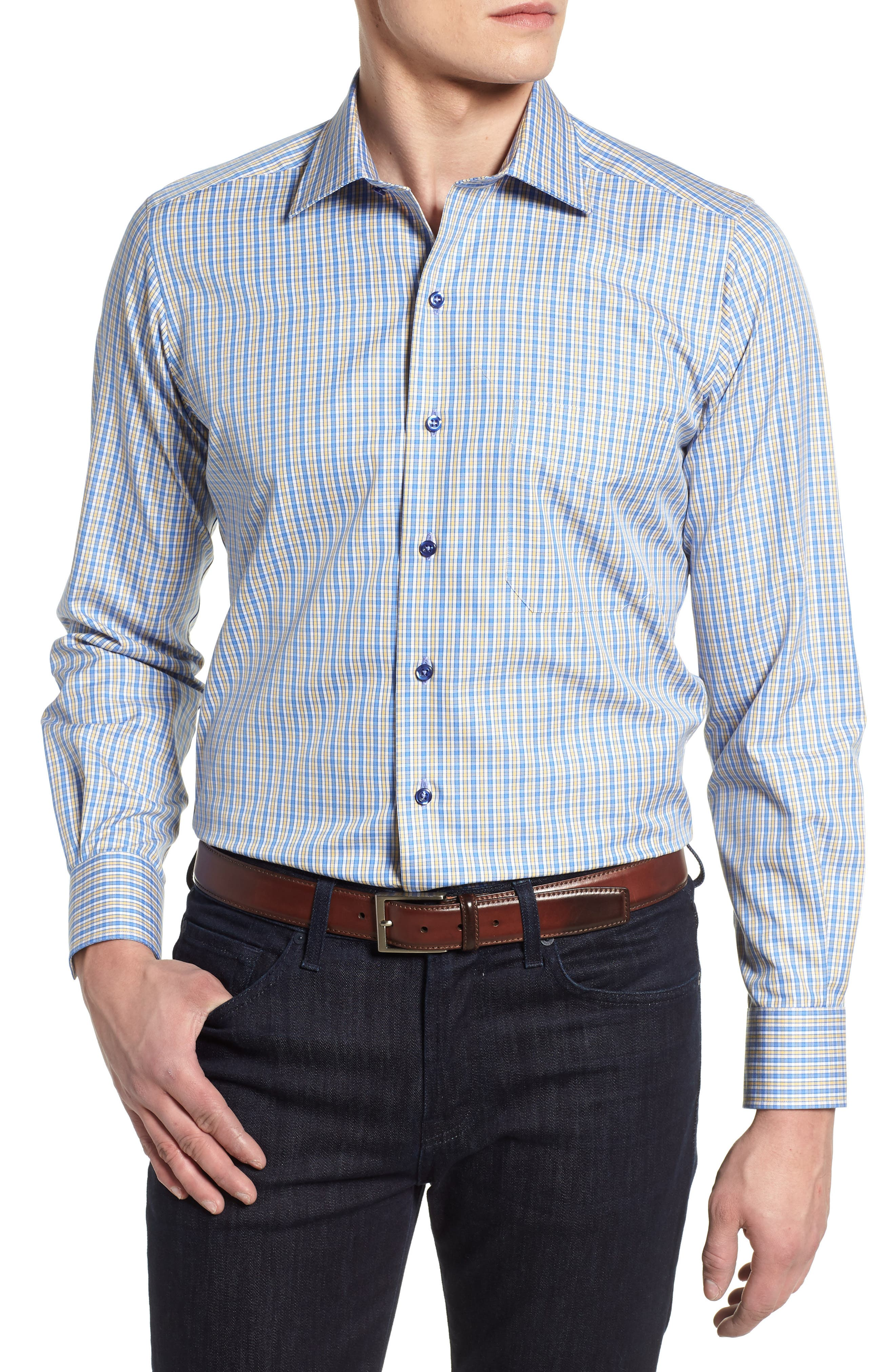 DAVID DONAHUE Sport Shirt, Main, color, 471