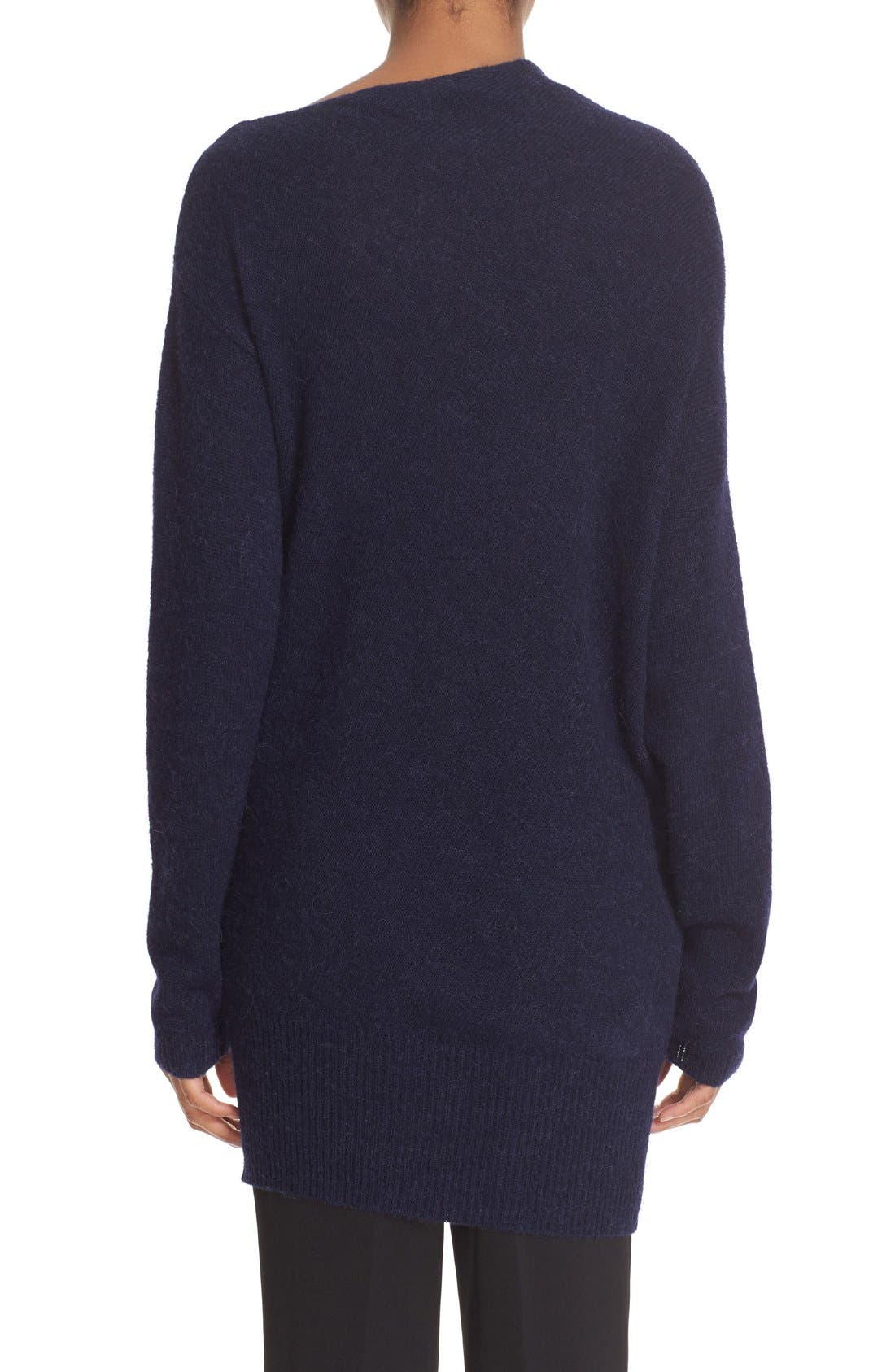 Asymmetrical Neck Sweater,                             Alternate thumbnail 2, color,                             401