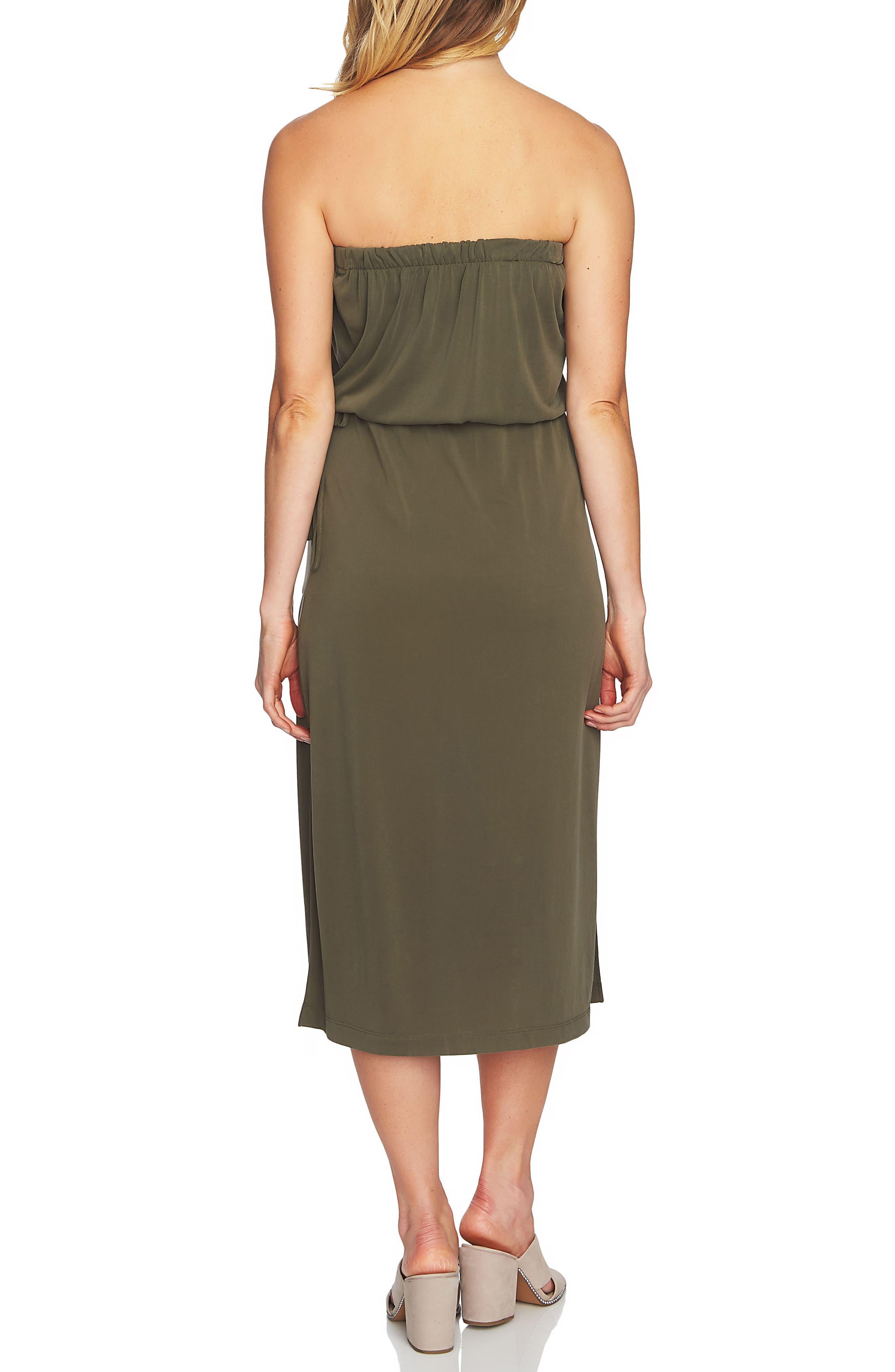 Strapless Maxi Dress,                             Alternate thumbnail 6, color,