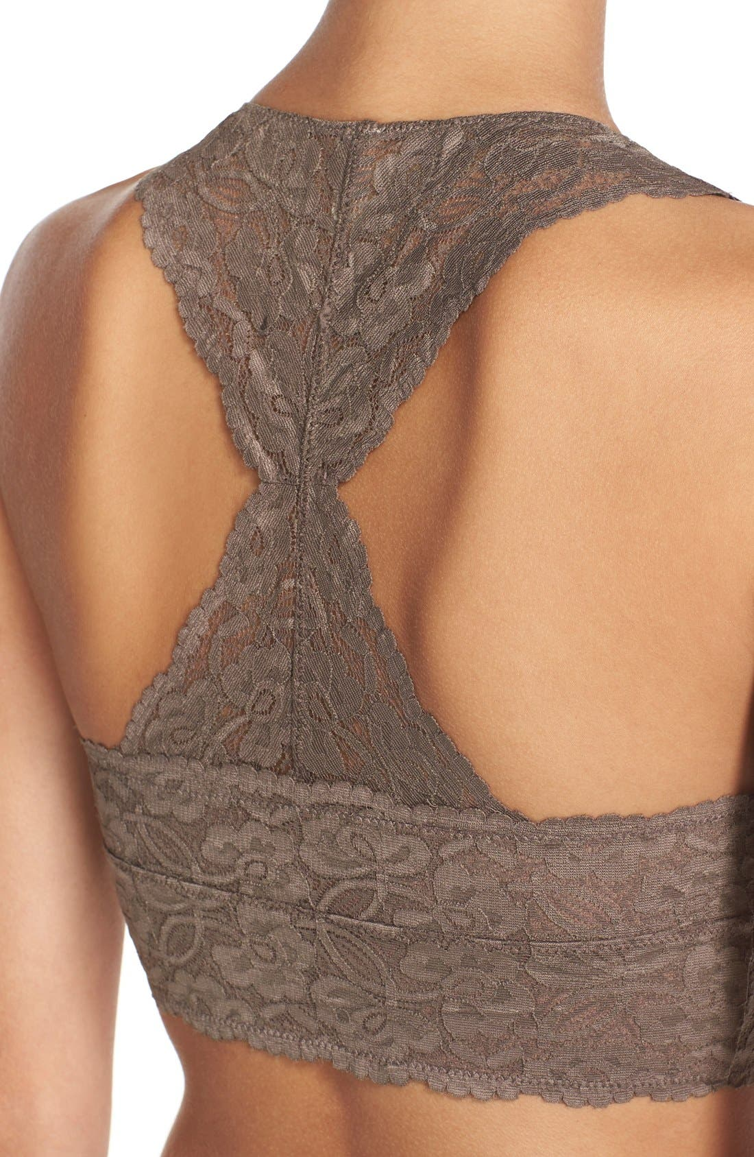 Racerback Galloon Lace Bralette,                             Alternate thumbnail 148, color,
