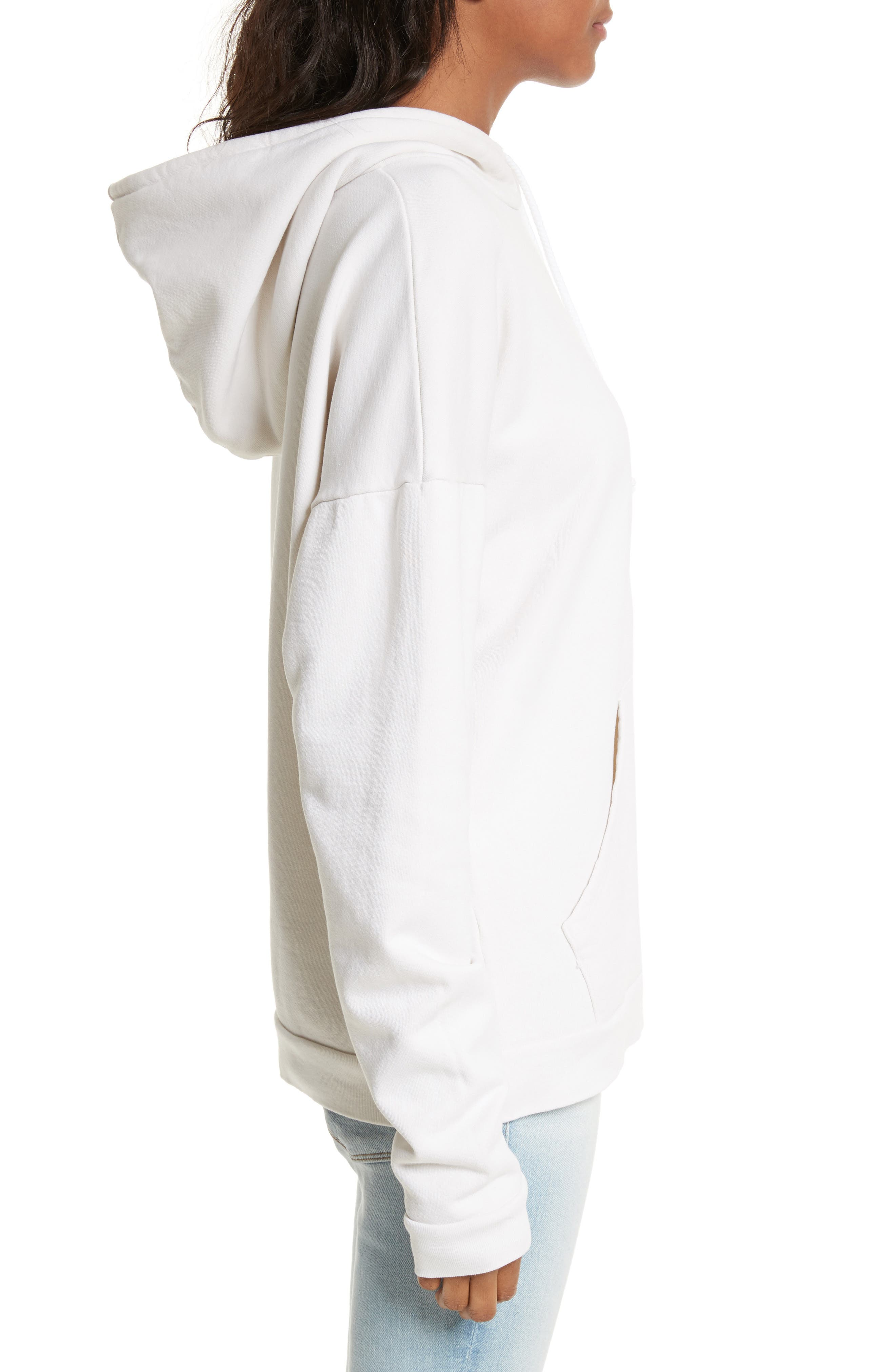 Oversize Hoodie,                             Alternate thumbnail 3, color,                             120