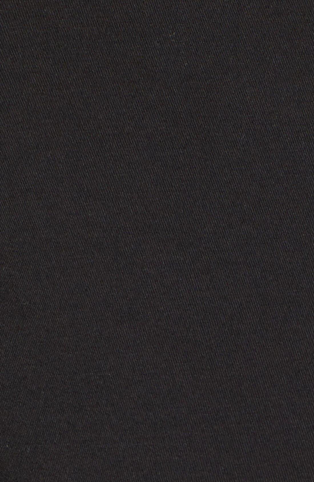 Tart 'Peaches' Maternity Body-Con Dress,                             Alternate thumbnail 2, color,                             BLACK