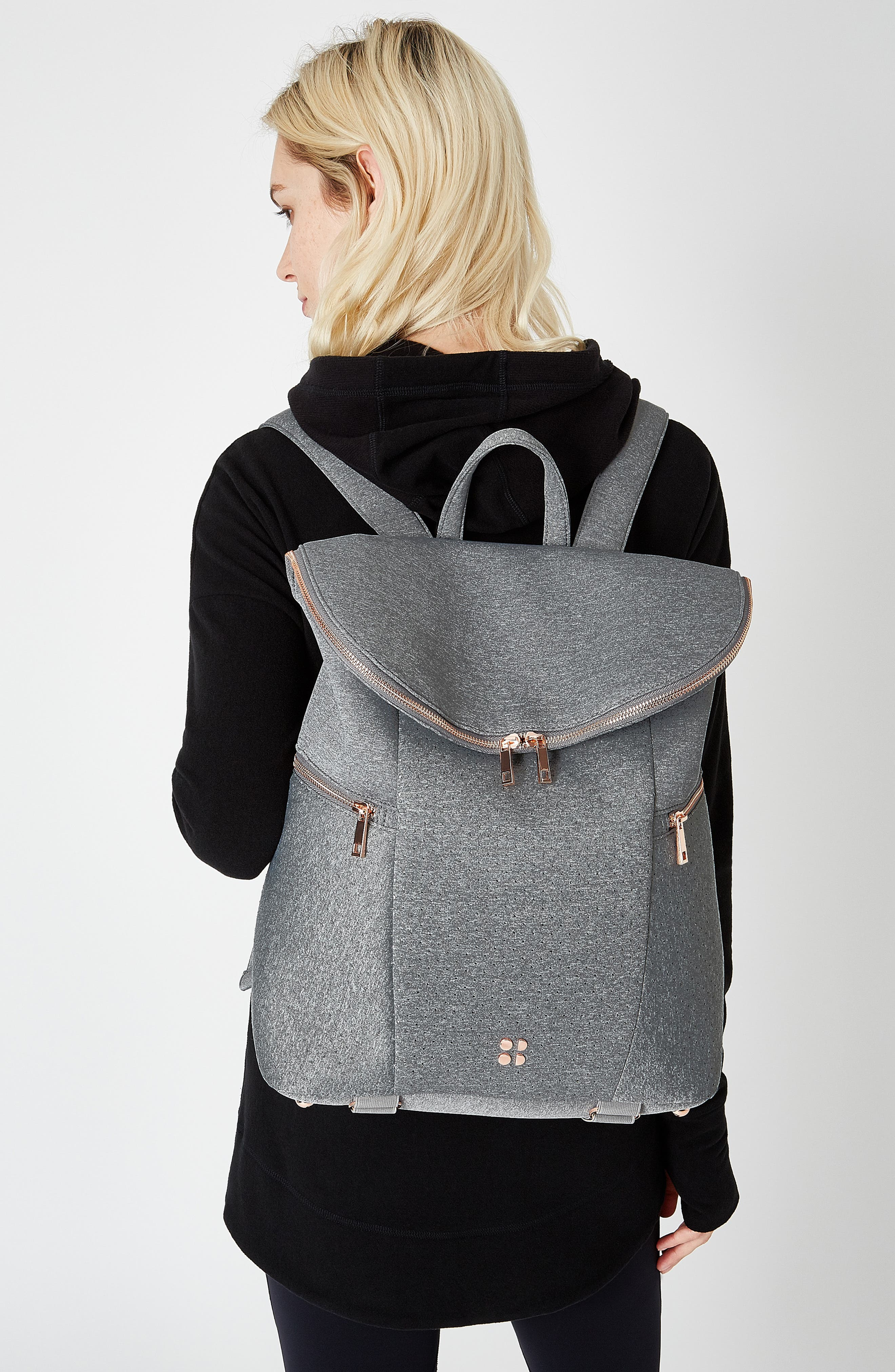All Sport Backpack,                             Alternate thumbnail 2, color,                             CHARCOAL MARL