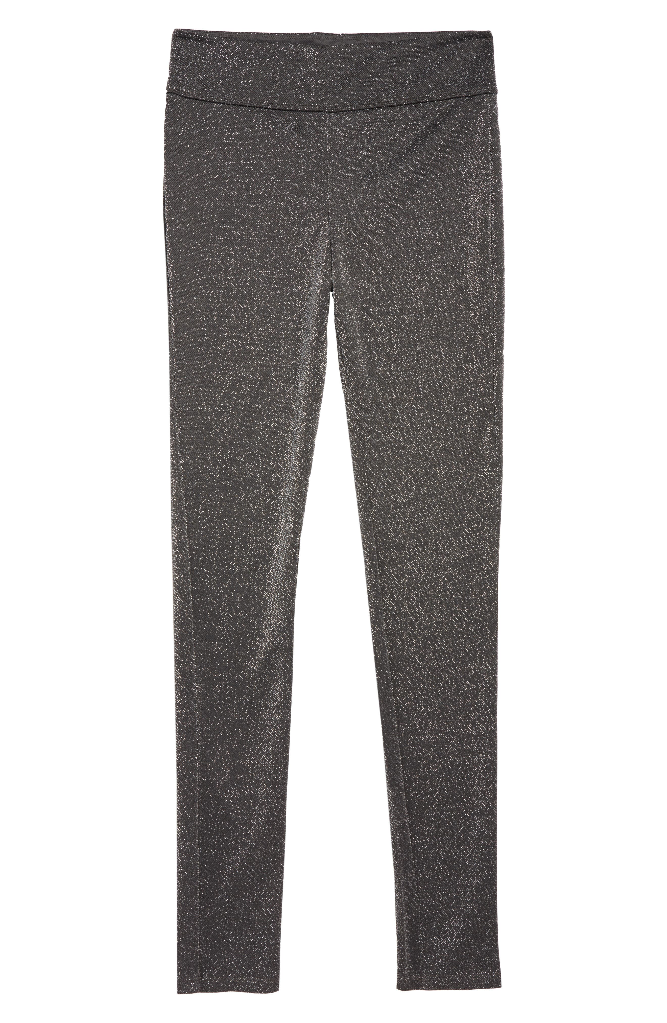 Sparkle High Waist Leggings,                         Main,                         color, GREY CASTLEROCK SPARKLE