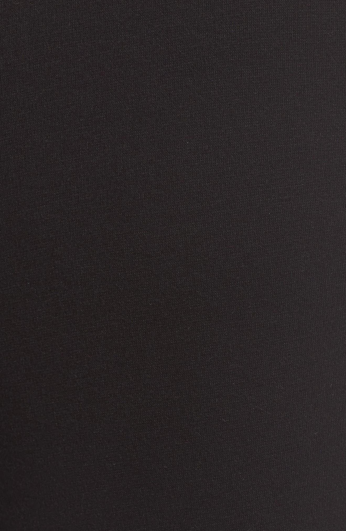 Wyatt Lounge Pants,                             Alternate thumbnail 5, color,                             BLACK