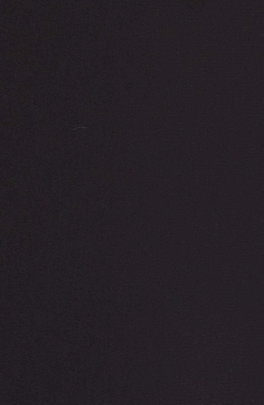 ALICE + OLIVIA,                             'Jeri' Beaded Bodice Strapless Jumpsuit,                             Alternate thumbnail 6, color,                             001