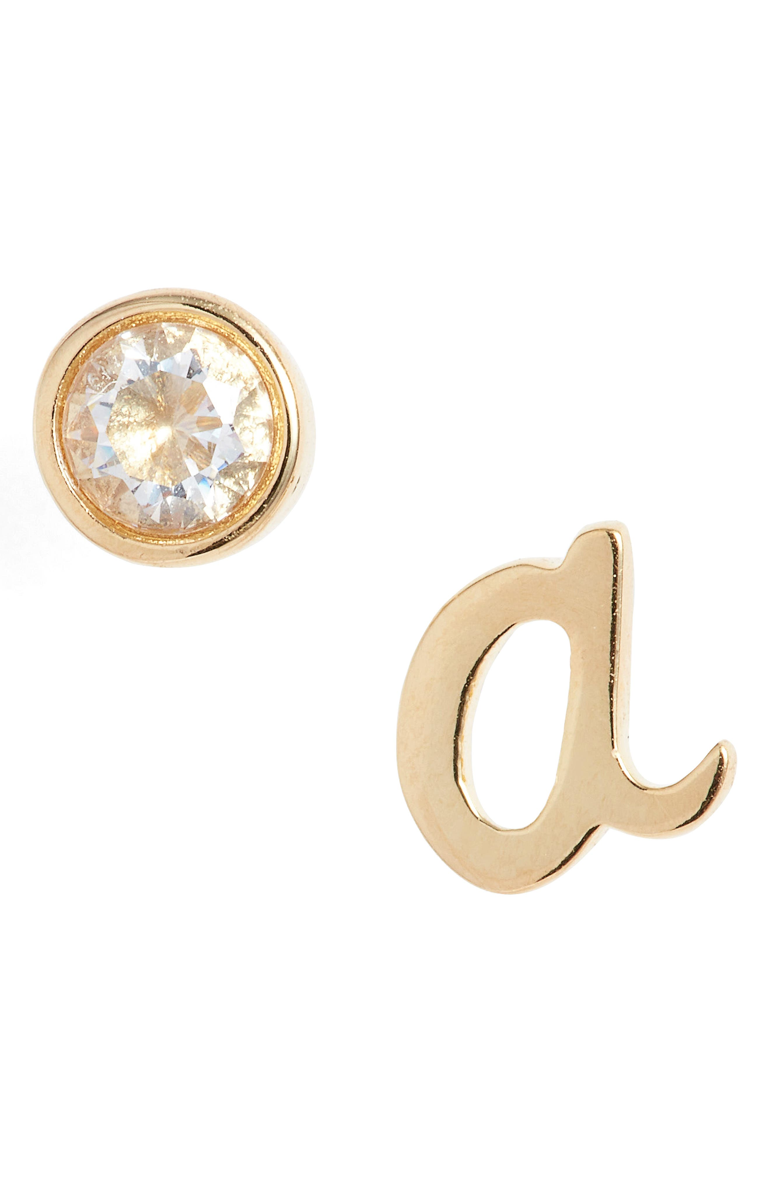 one in a million mismatched stud earrings,                             Main thumbnail 1, color,                             710