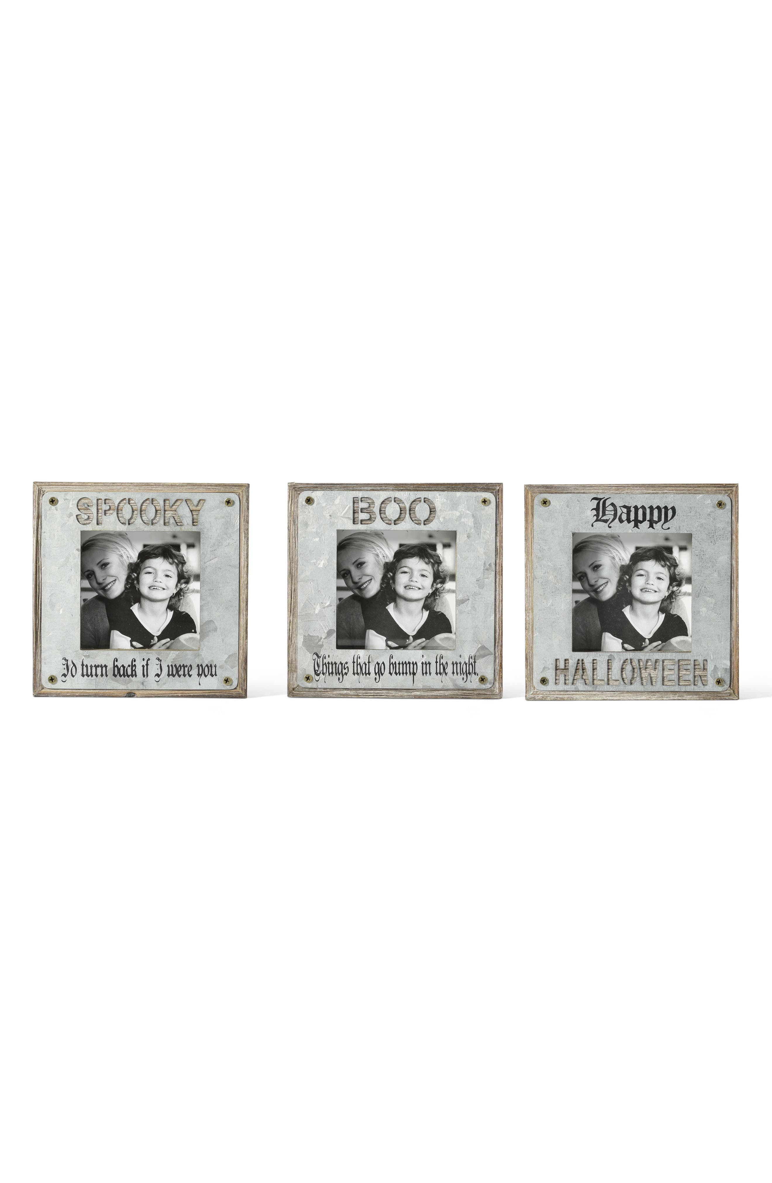 Halloween Set of 3 Picture Frames,                             Alternate thumbnail 2, color,                             020