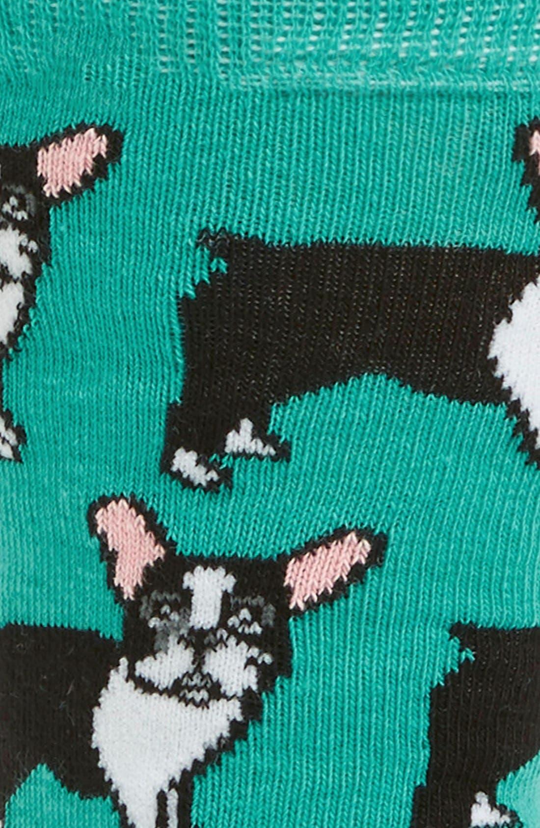 French Bulldog Socks,                             Alternate thumbnail 2, color,                             400