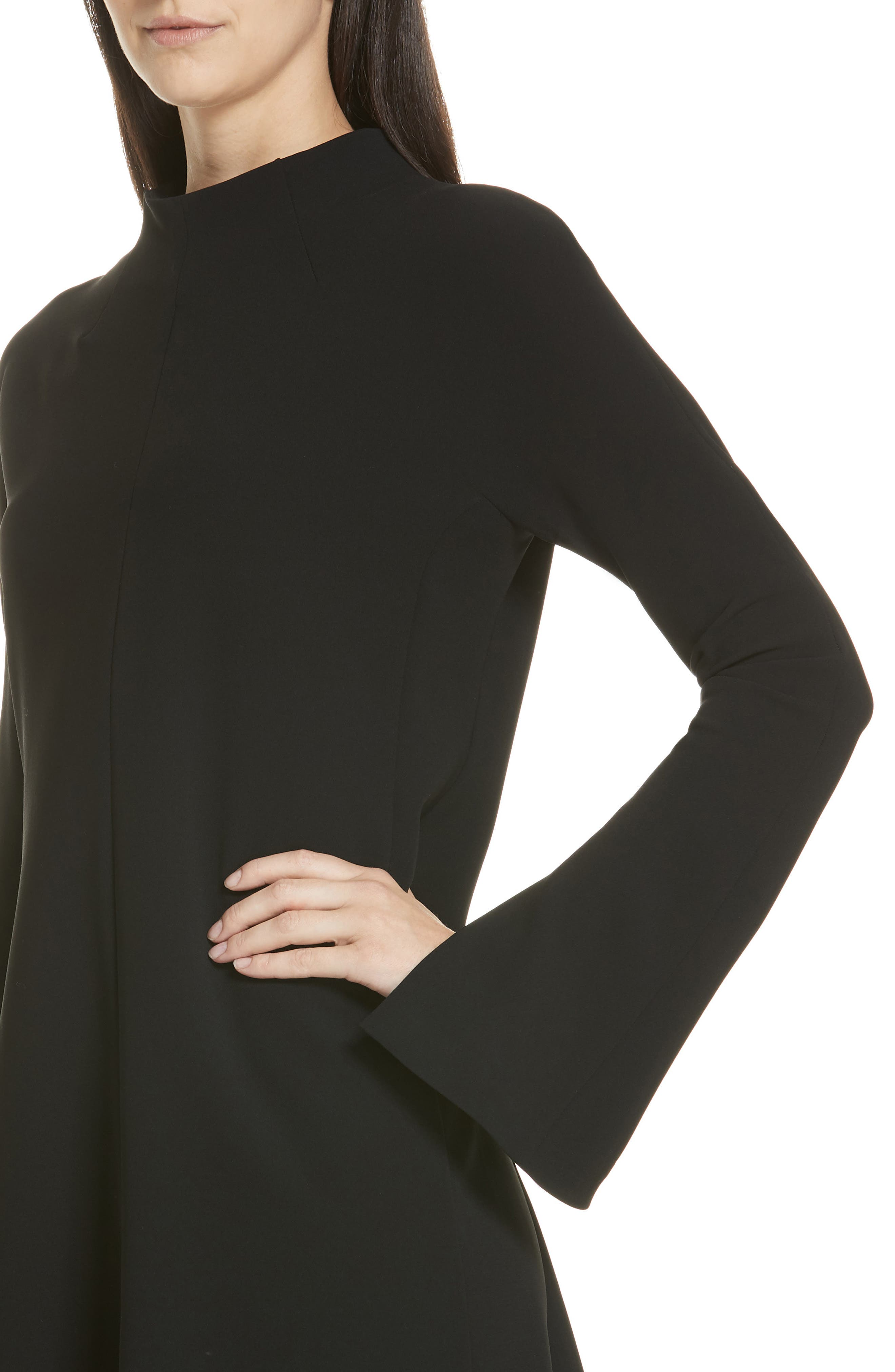 Admiral Dolman Shift Dress,                             Alternate thumbnail 4, color,                             001