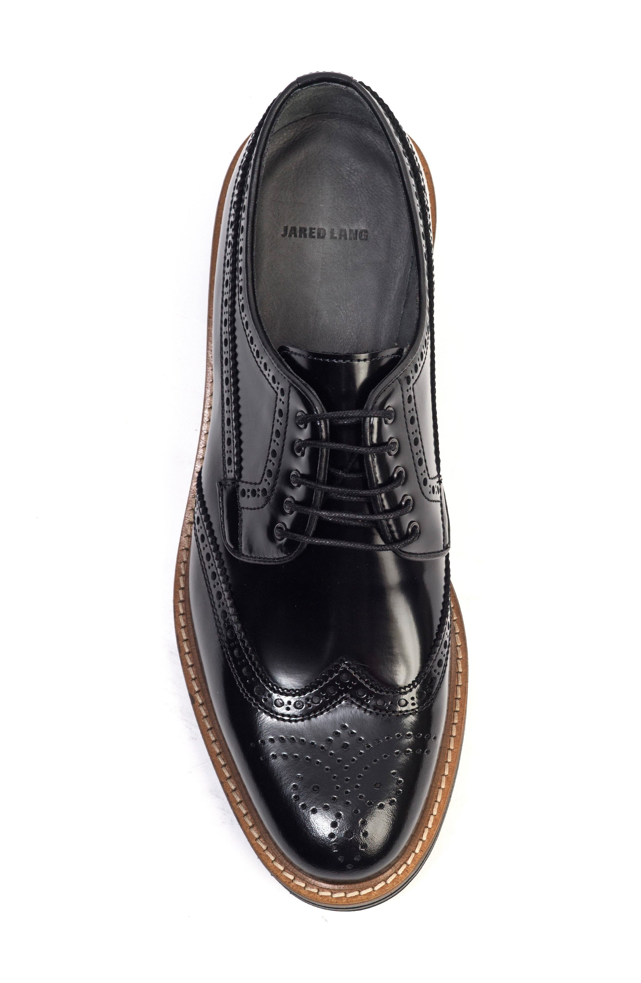 Doc Sandwich Sole Wingtip Oxford,                             Alternate thumbnail 3, color,                             001