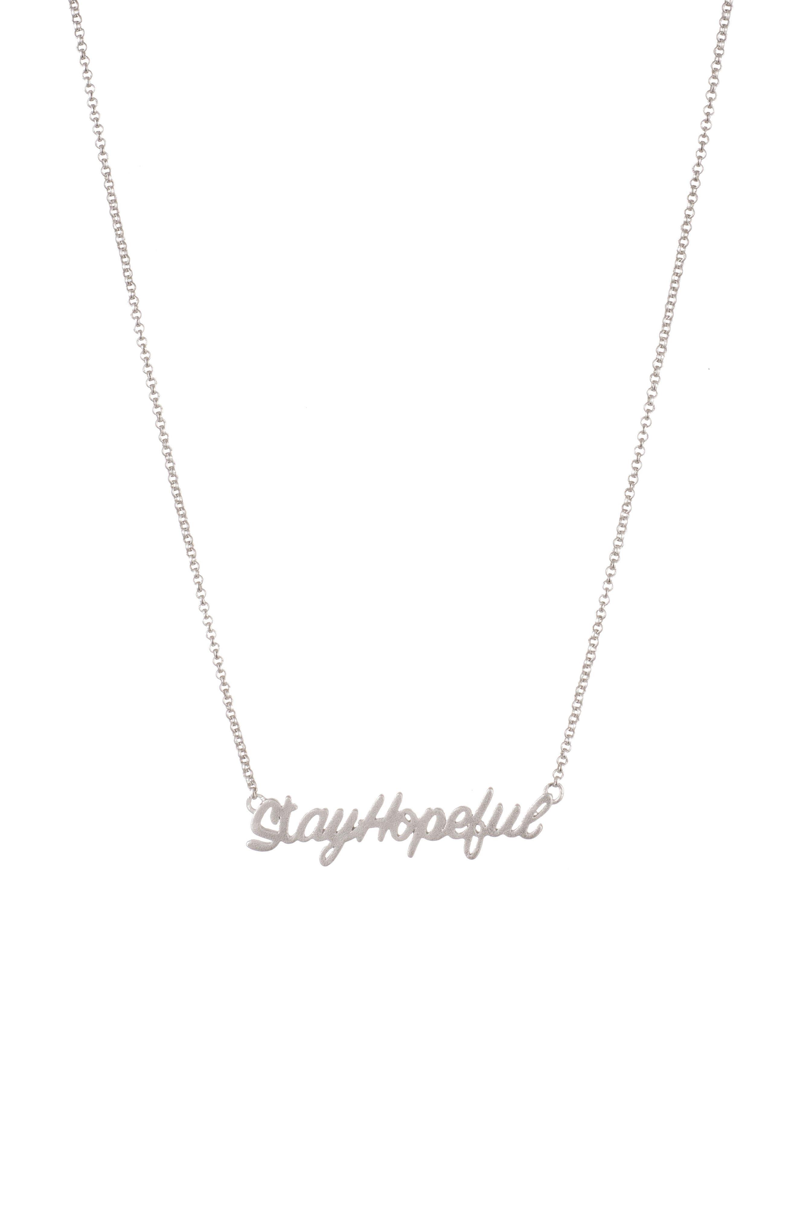 Hopeful Necklace,                         Main,                         color,