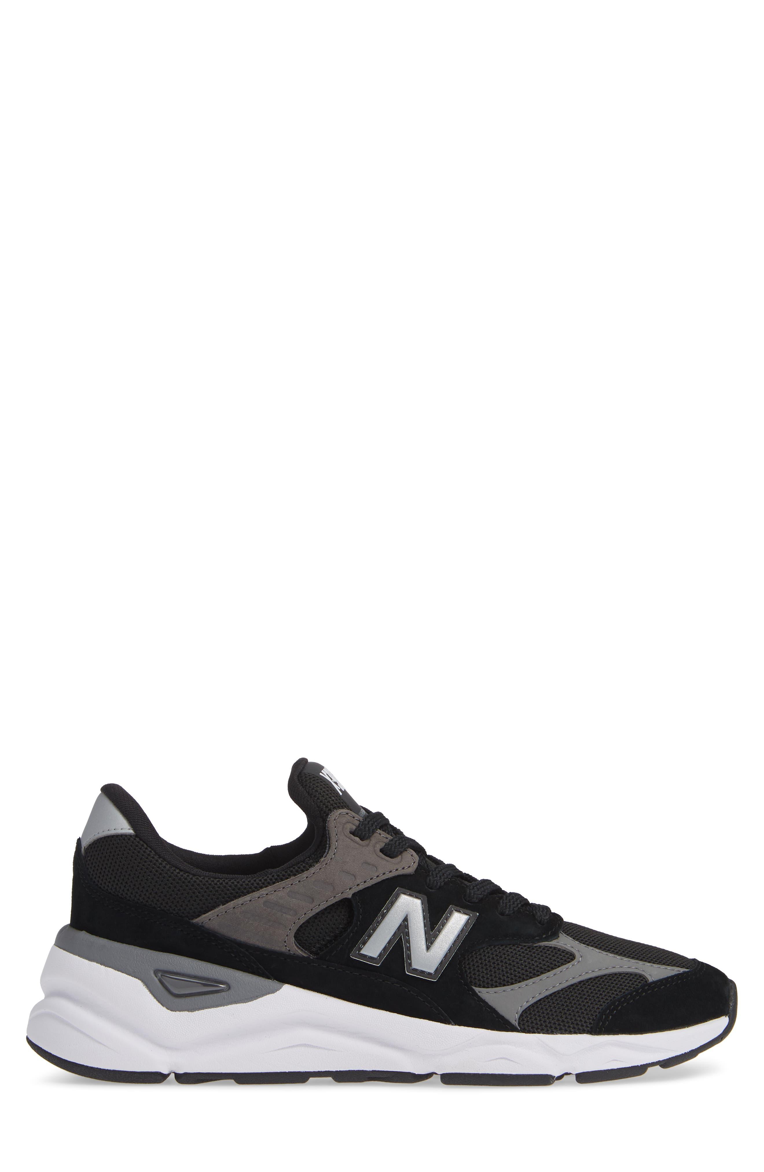 X-90 Sneaker,                             Alternate thumbnail 3, color,                             BLACK