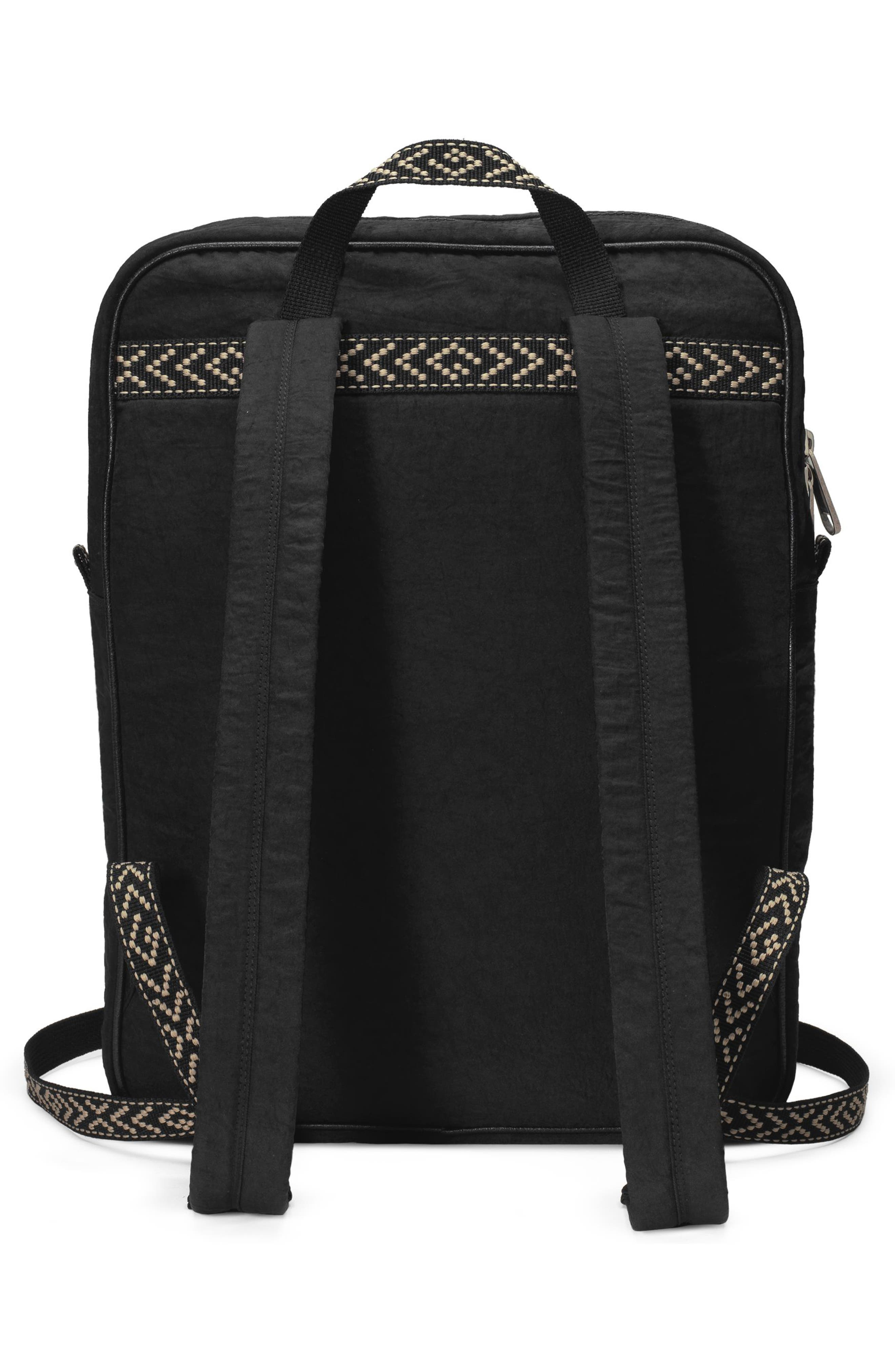 Patch Backpack,                             Alternate thumbnail 2, color,                             BLACK