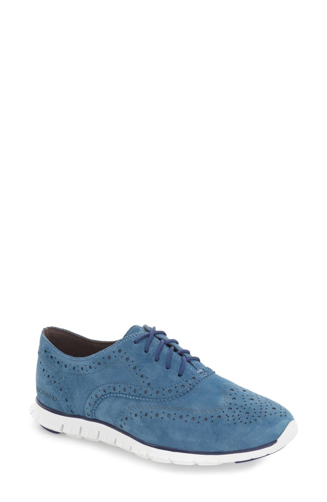 'ZeroGrand' Perforated Wingtip,                             Main thumbnail 23, color,